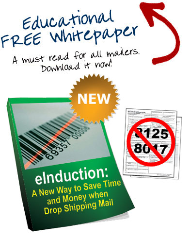 eInduction: A New Way to Save Time and Money when Drop Shipping Mail - Download the White Paper Now