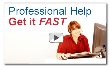 Our professionals can help you get up and running fast…