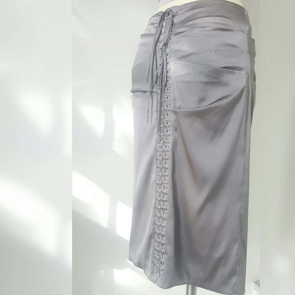 2000s Dolce & Gabbana Grey Skirt Dolce&Gabbana | Skirts | MO01650GRIGIO