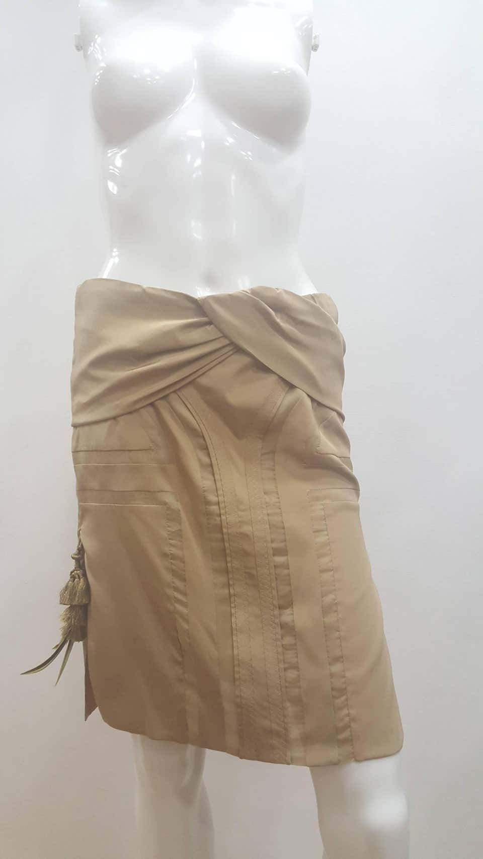 2004 Gucci by Tom Ford beije Skirt Gucci | Gonna | EB01A0100EXSBEIJE