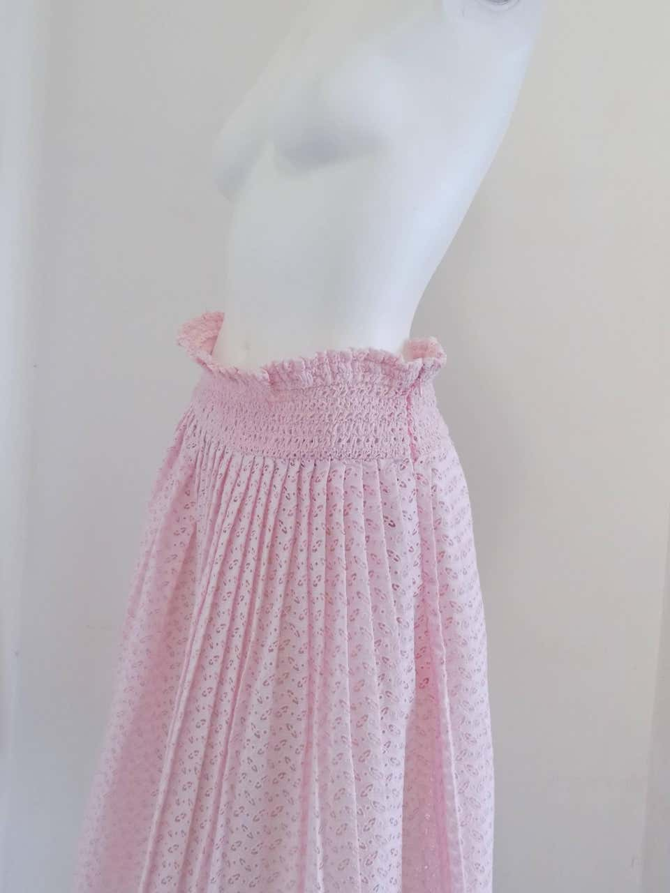 Prada Pink Skirt NWOT Prada | Gonna | BFGONNA01A050MHDENIM
