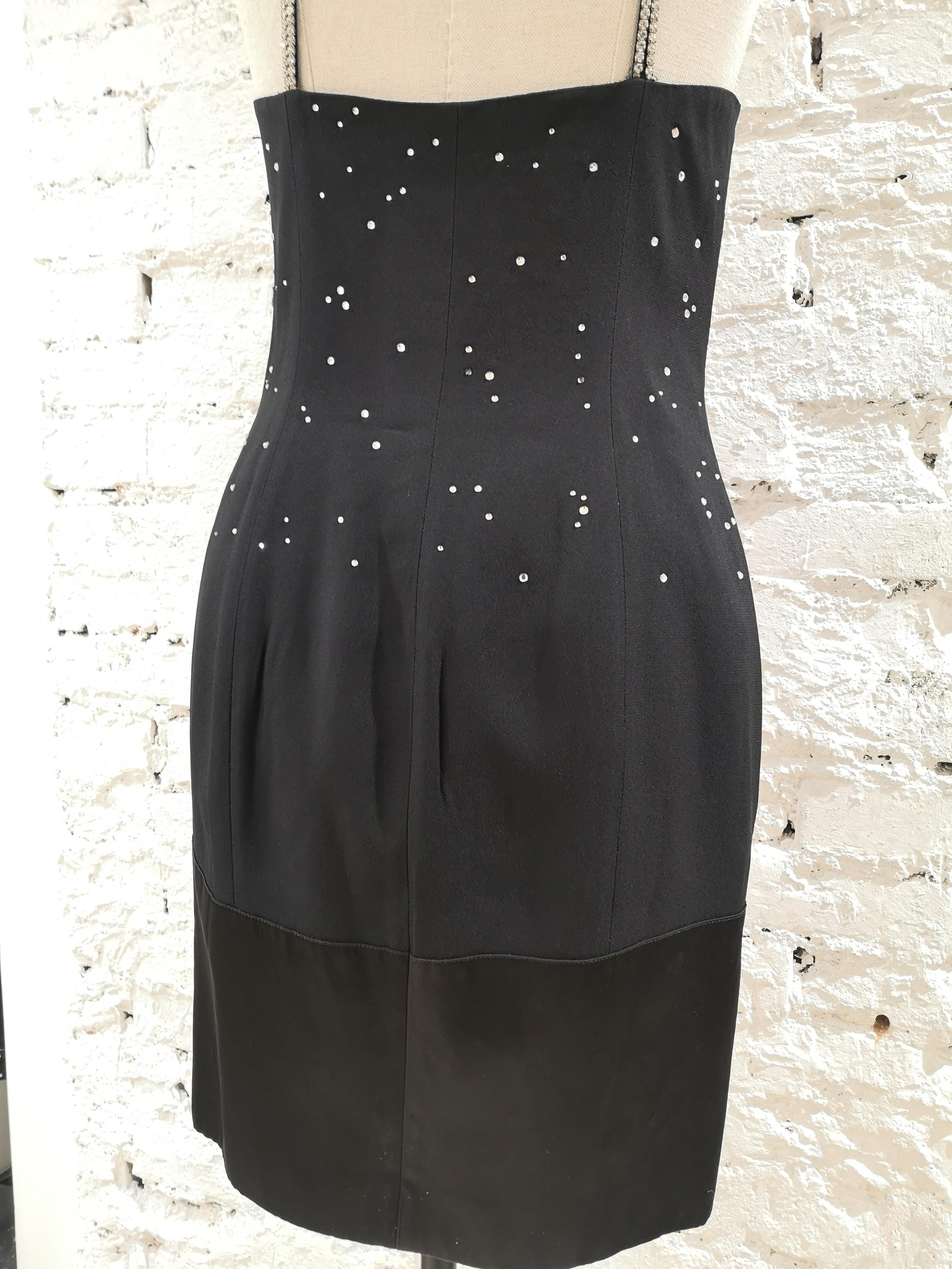 Moschino black city dress Moschino | Dresses | VXR014079NERO