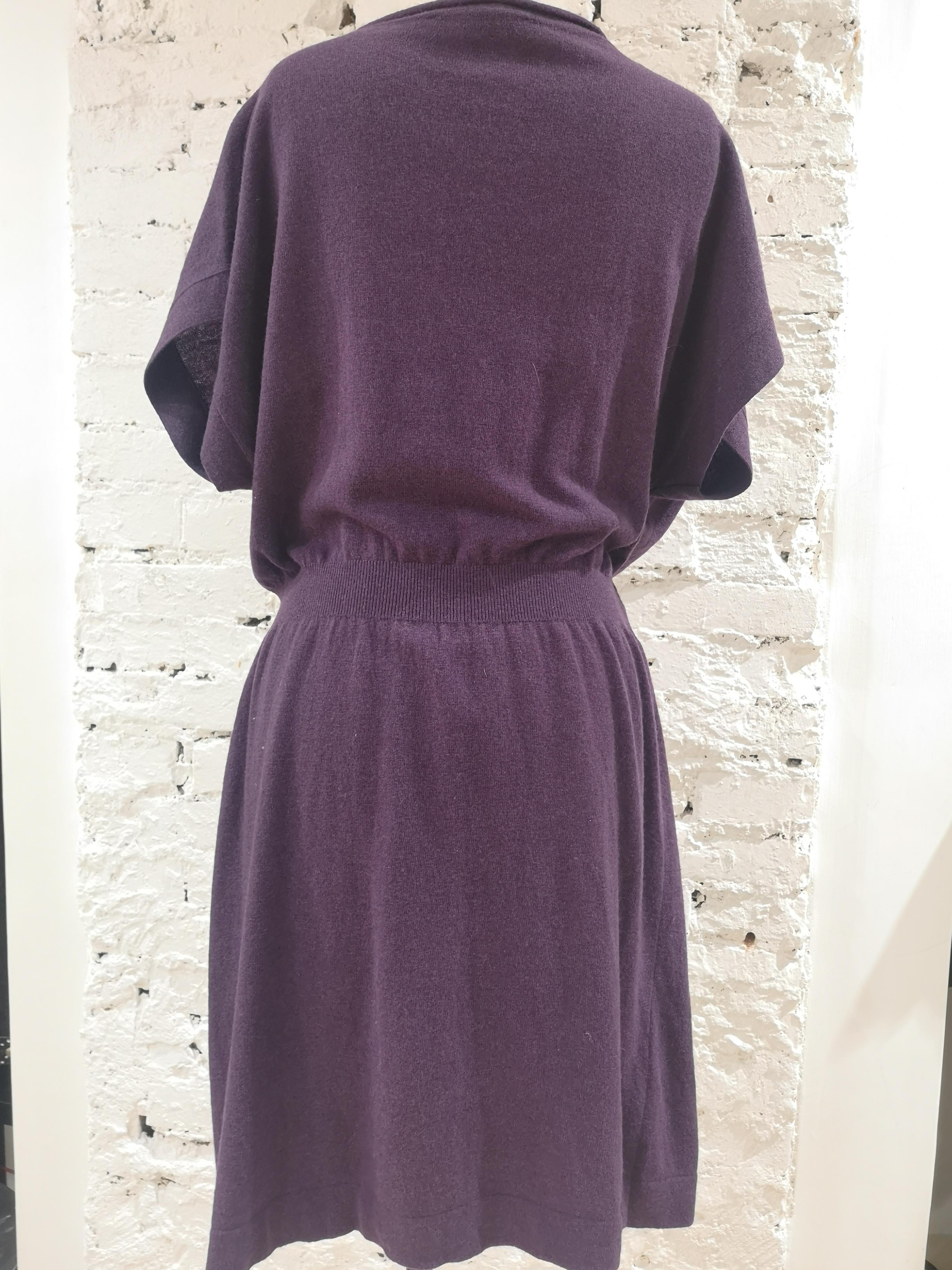 Moschino wool purple dress Moschino | Abito | VXR017037FARFALLE