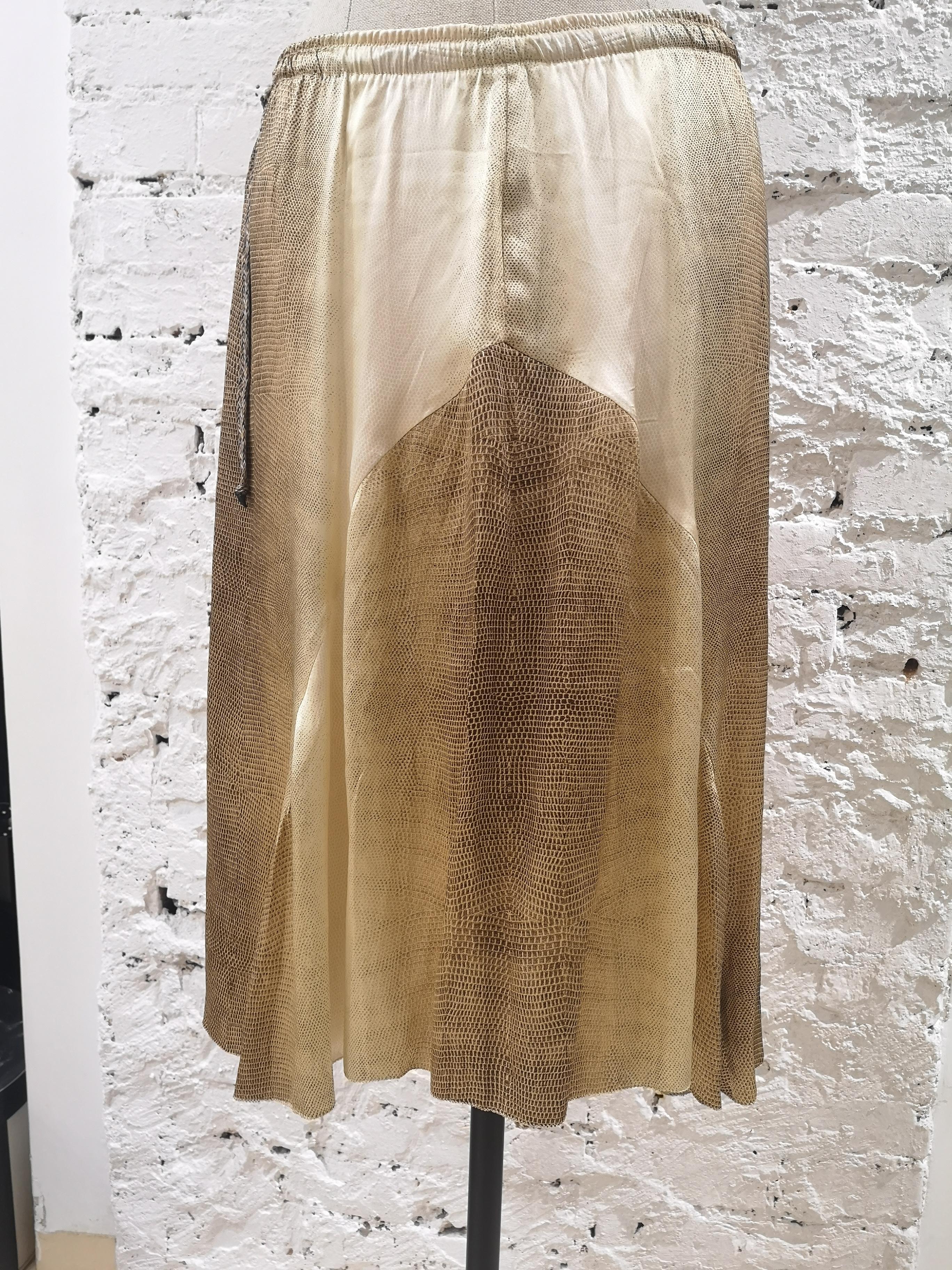 Roberto Cavalli silk Skirt  Roberto Cavalli | Skirts | AM06A060PLSETA