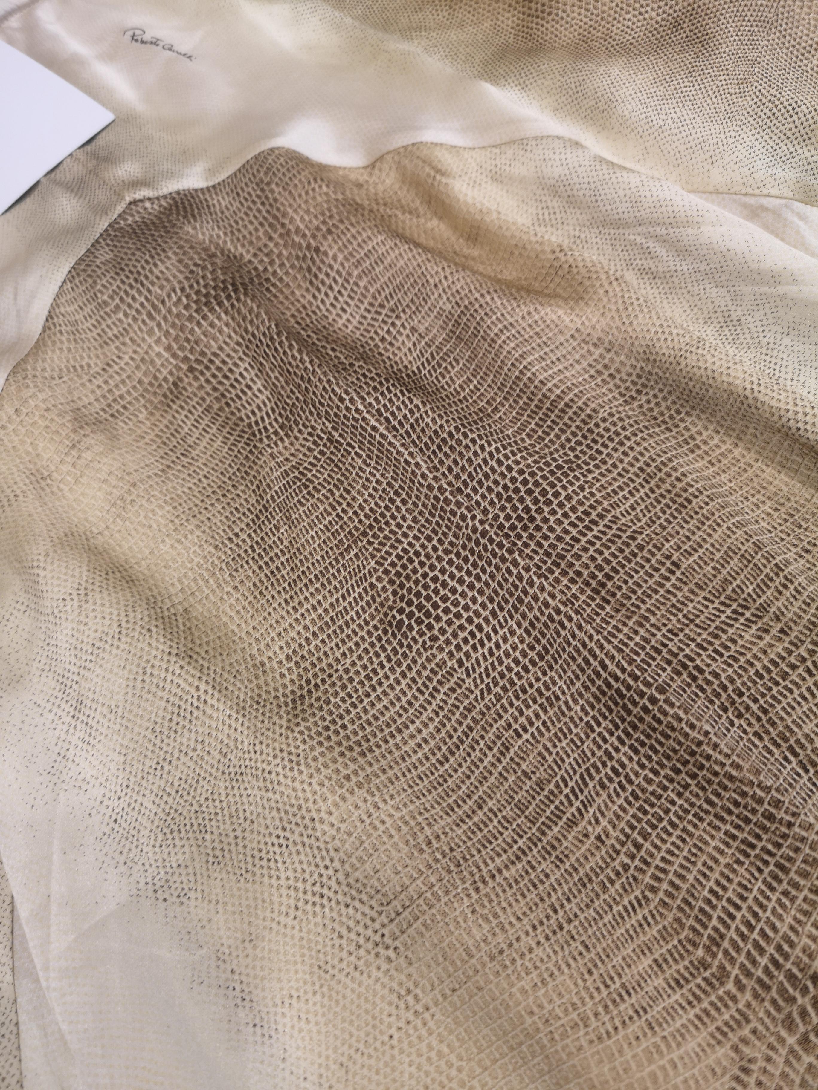 Roberto Cavalli silk Skirt Roberto Cavalli   Gonna   AM06A060PLSETA