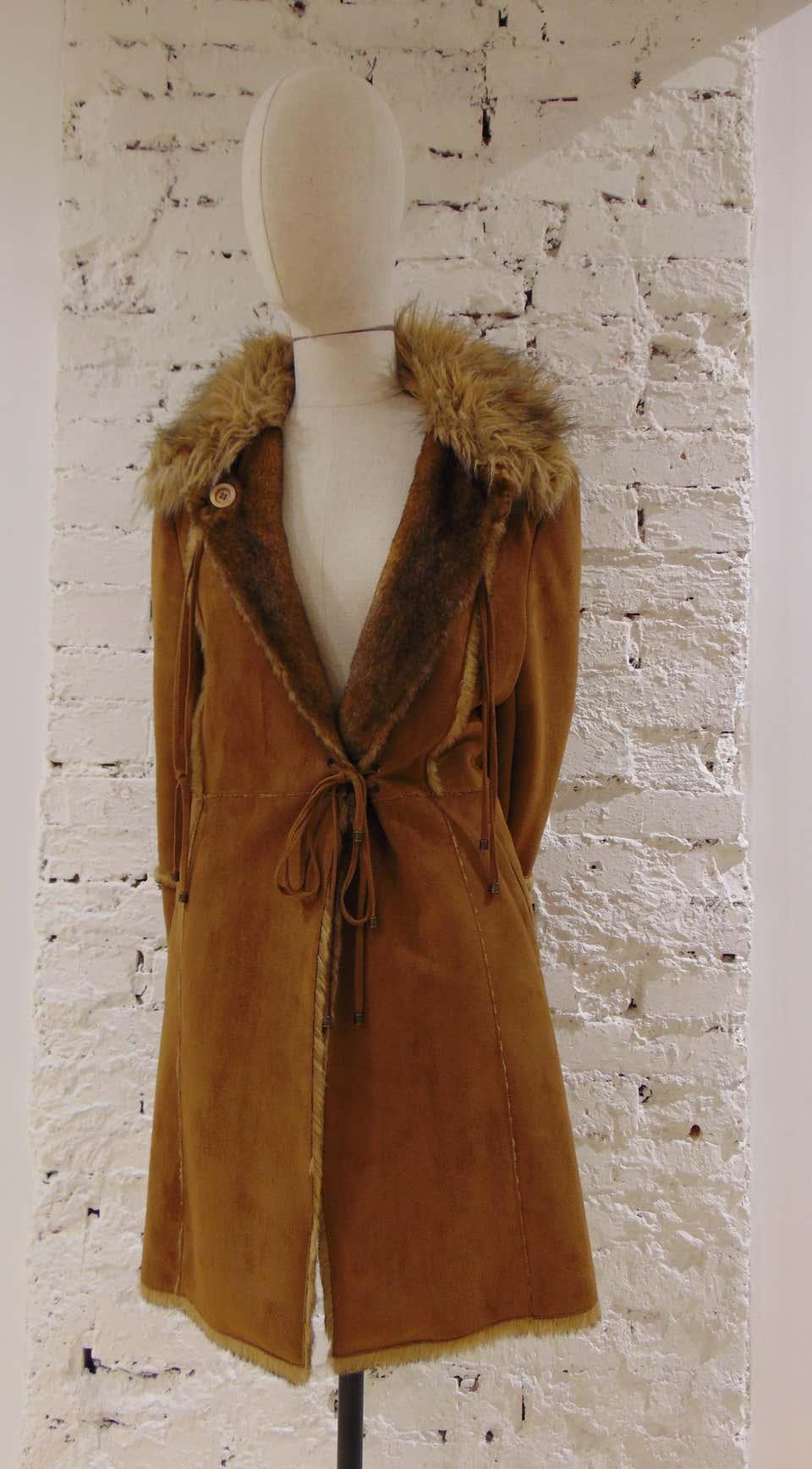 Balmain Brown Coat Balmain | Coats | VXR01875XOLNERO LUNGO