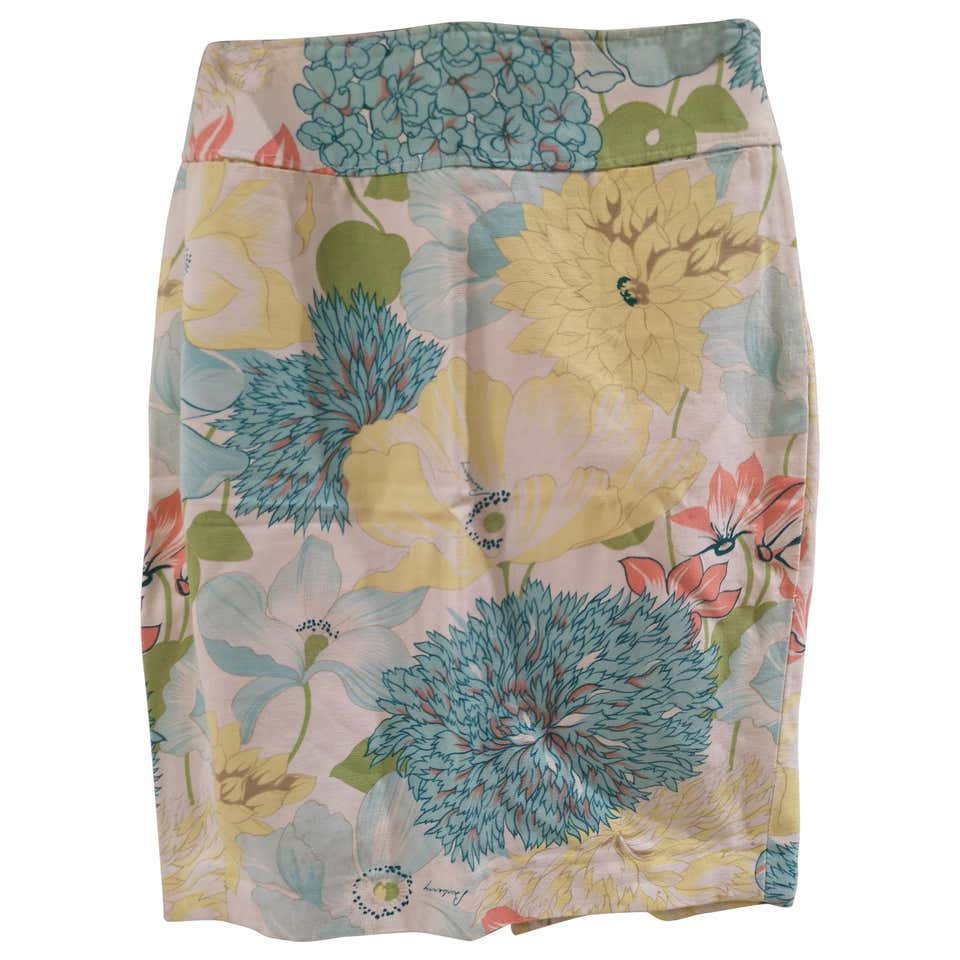 Burberry flower cotton skirt Burberry | Skirts | VXR0160234FIORI