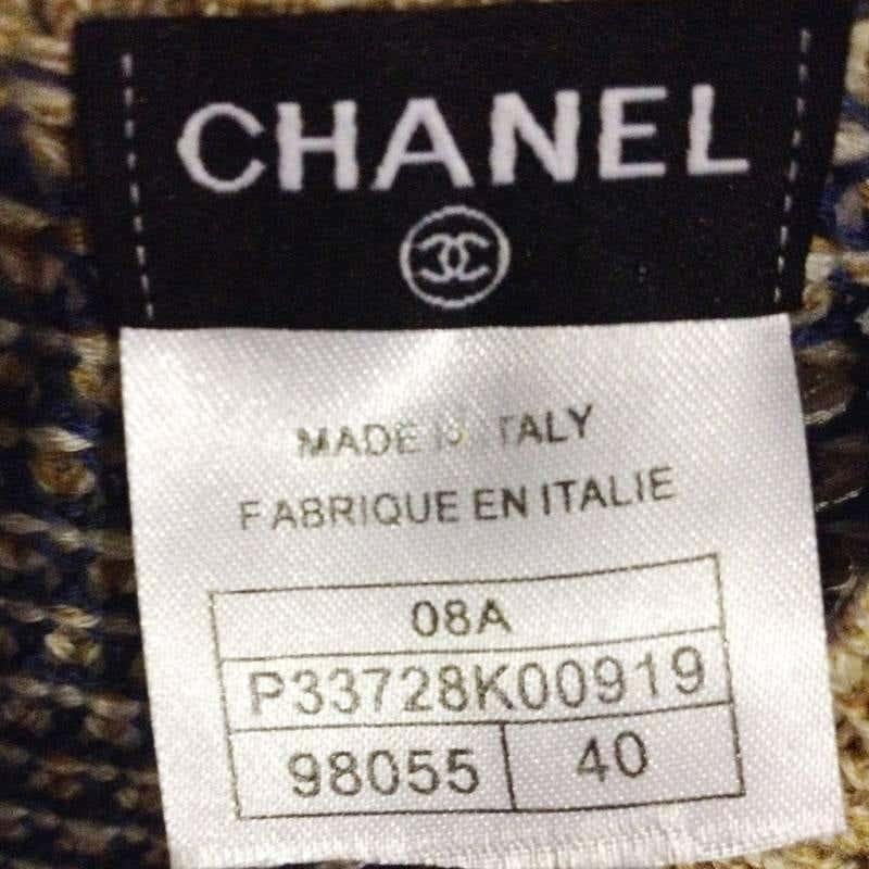 Chanel wool multicolour dress Chanel | Abito | MN01850XSZ0LANA