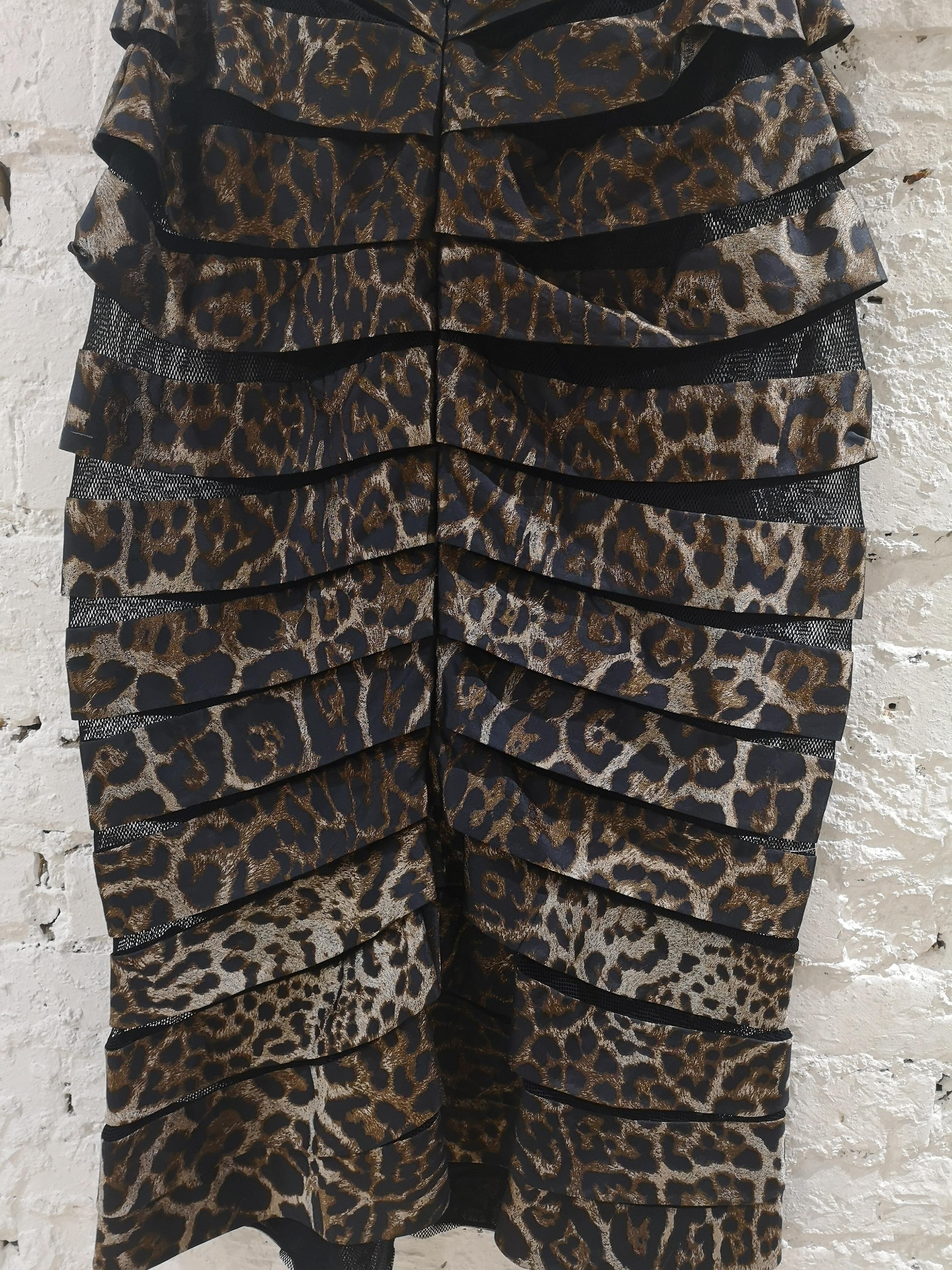 Gianfranco Ferrè cheetah see through skirt Gianfranco Ferre | Skirts | VXR0160217CHEETAH