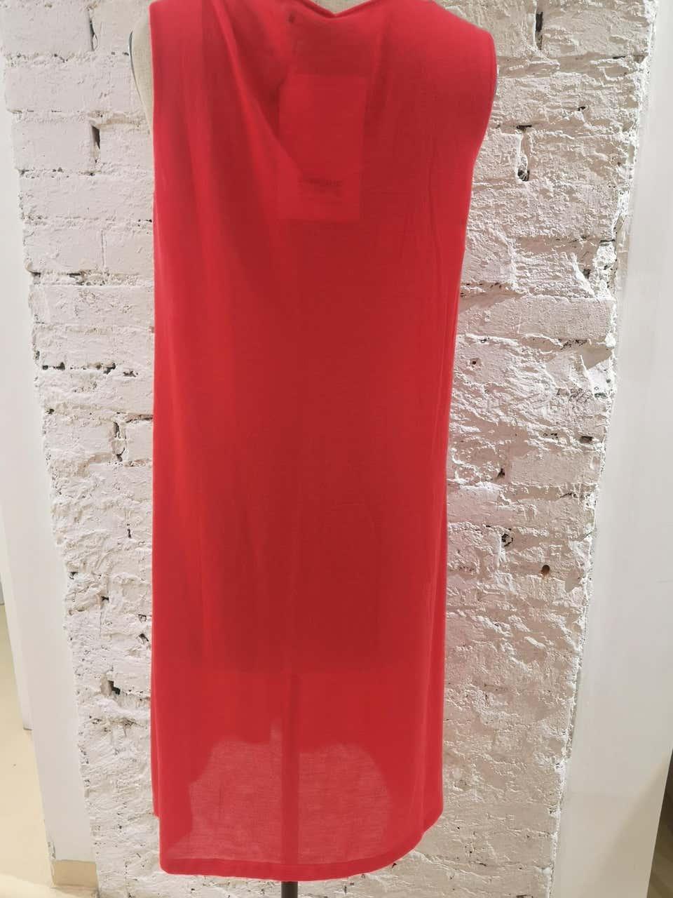Jil Sander Red Dress Jil Sander | Abito | BF01860XOLROSSO