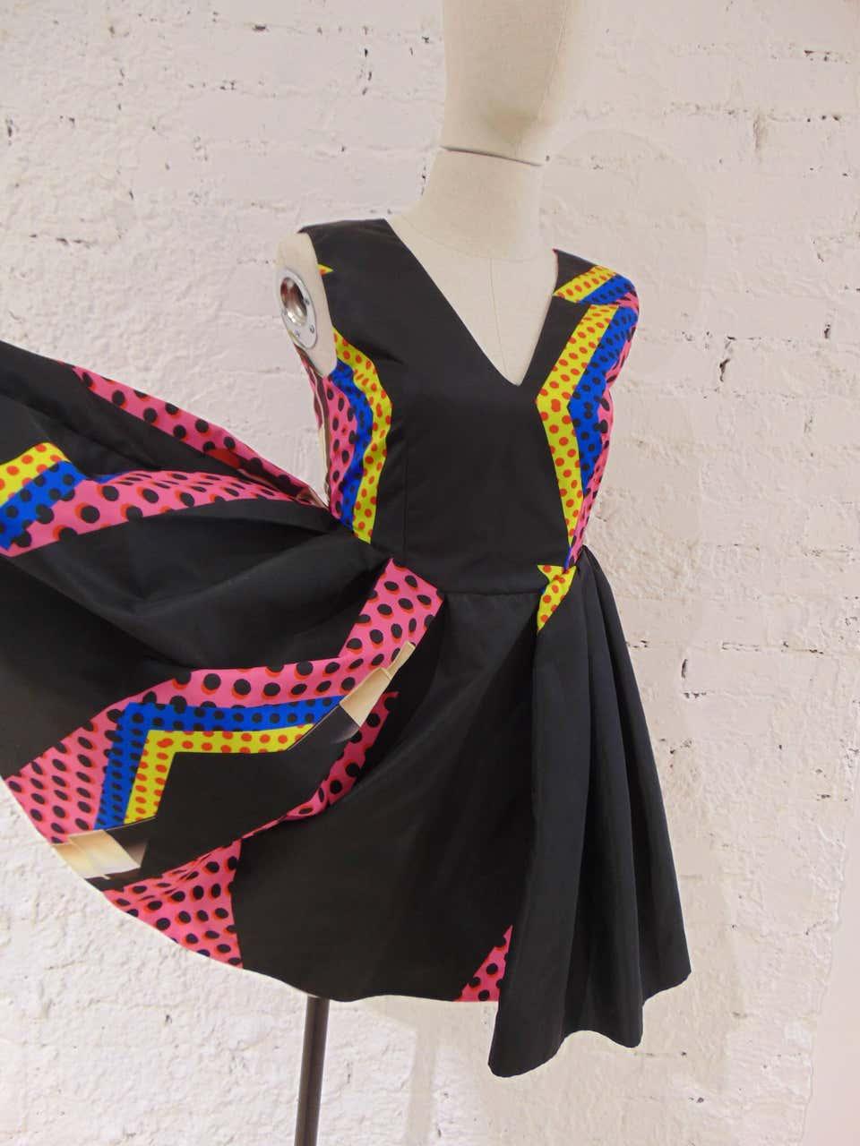 Leitmotiv NWOT Multicoloured dress Leitmotiv | Abito | TCS0184540NERO