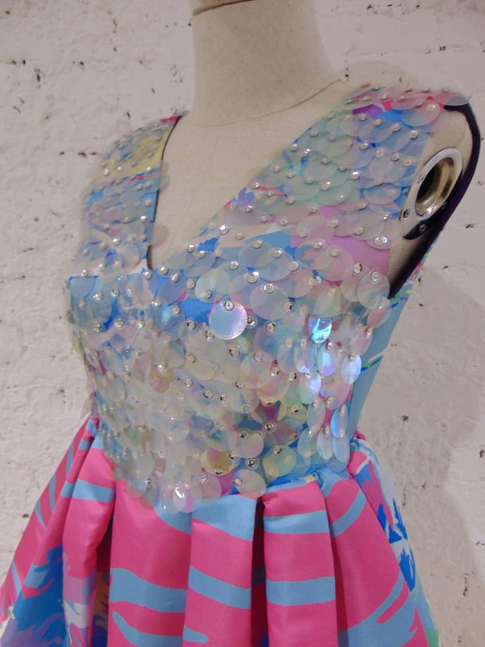 Leitmotiv multicoloured sequined dress Leitmotiv | Dresses | TCS0184550CELESTE