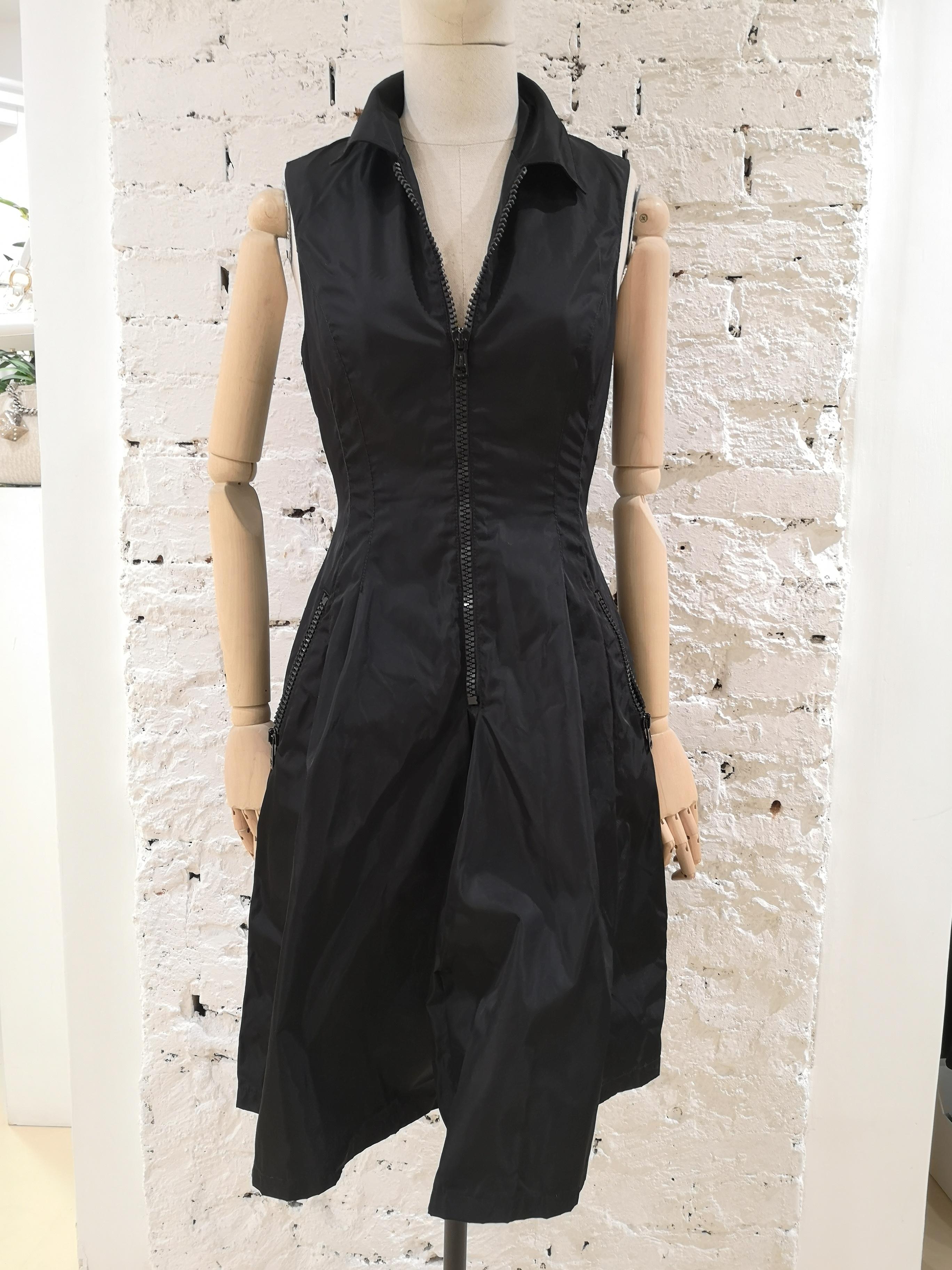 Prada Black Dress Prada | Abito | AMGV0171250120NERO