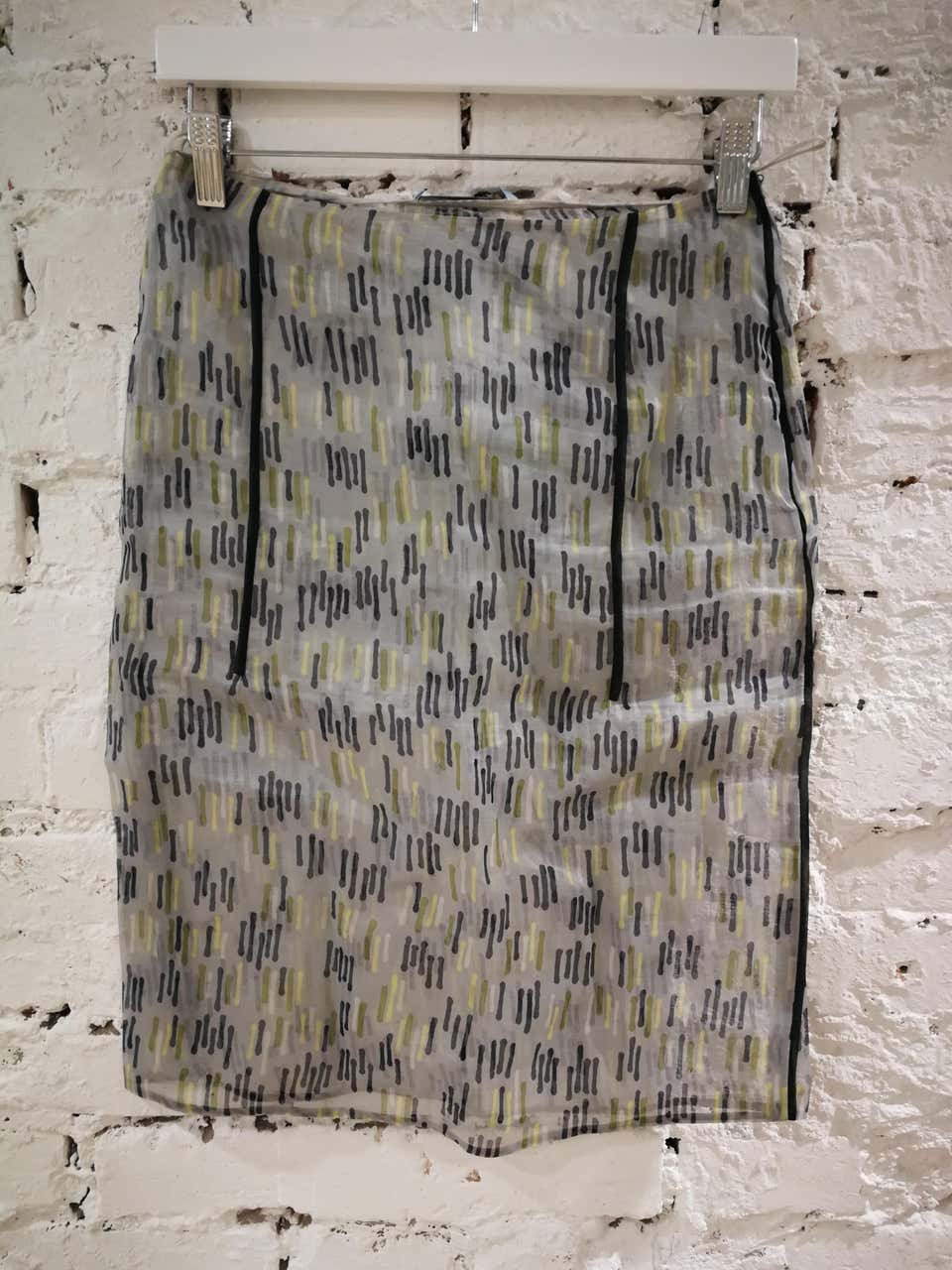Prada See through Skirt Prada | Gonna | BF01840XSATRASP-.