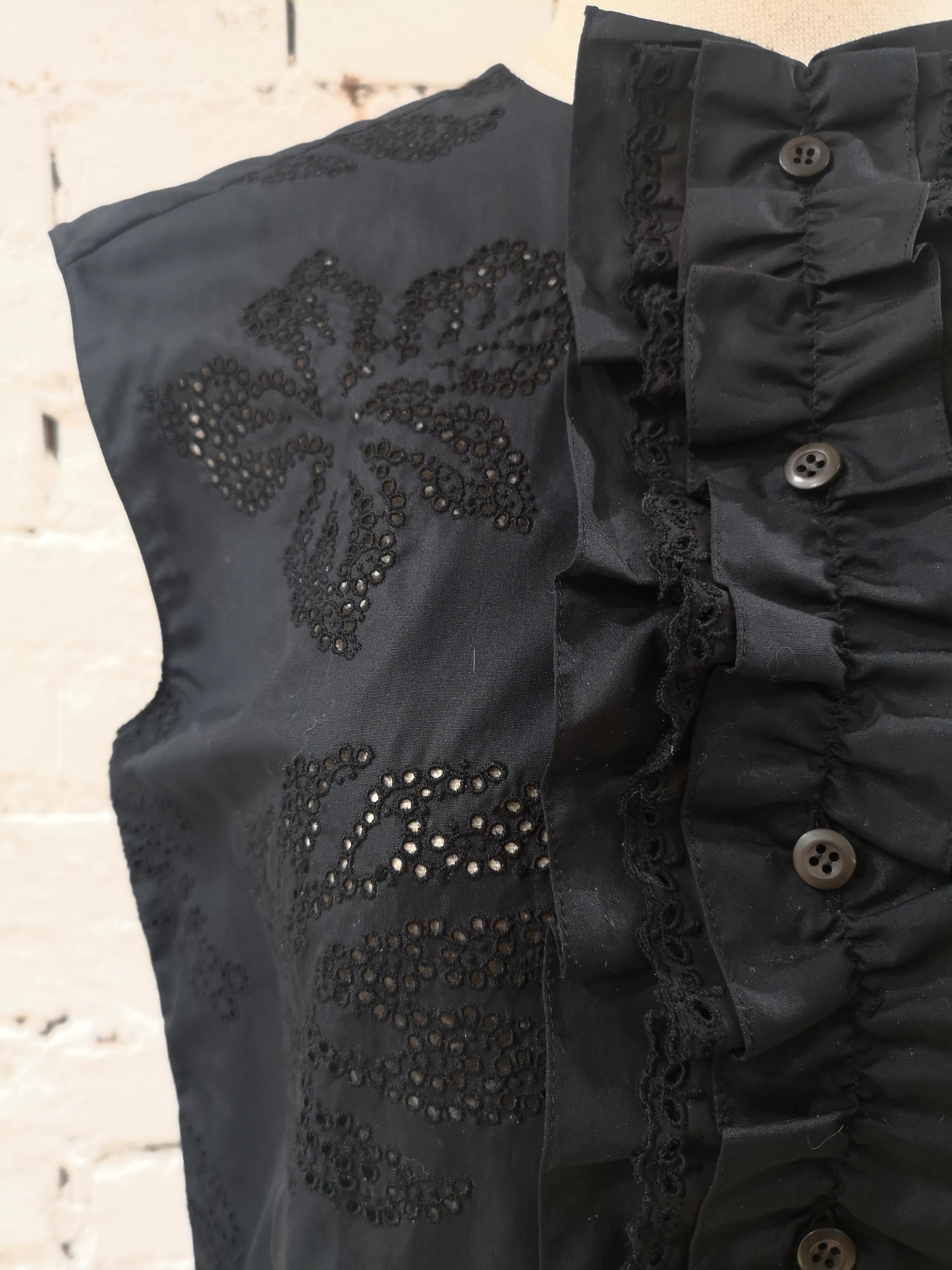 Prada Black Sangallo NWOT Dress Prada | Abito | BF01880CXXSANERO