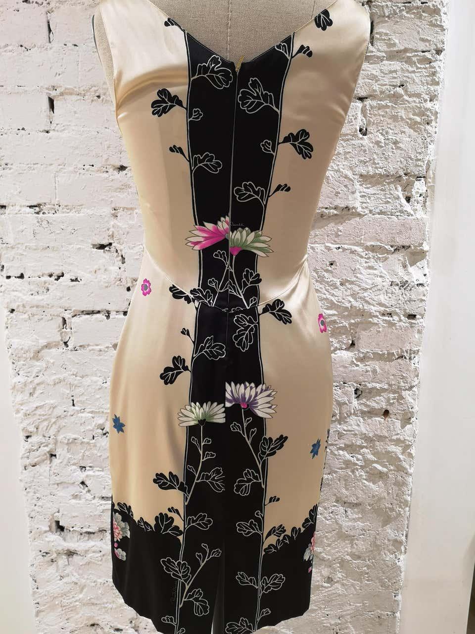 Roberto Cavalli Silk Dress Roberto Cavalli | Abito | EC01814X0SQFIORI