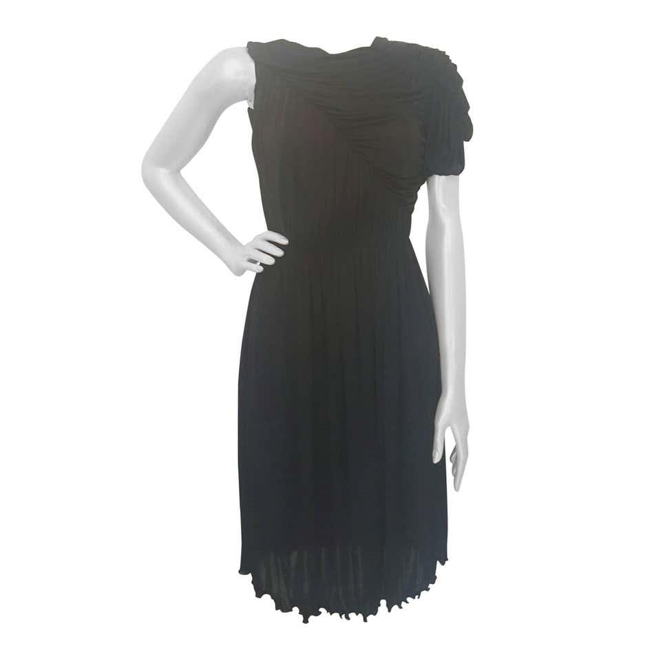 2000s Francesco Scognamiglio black dress Scognamiglio | Abito | VXR17101NERO