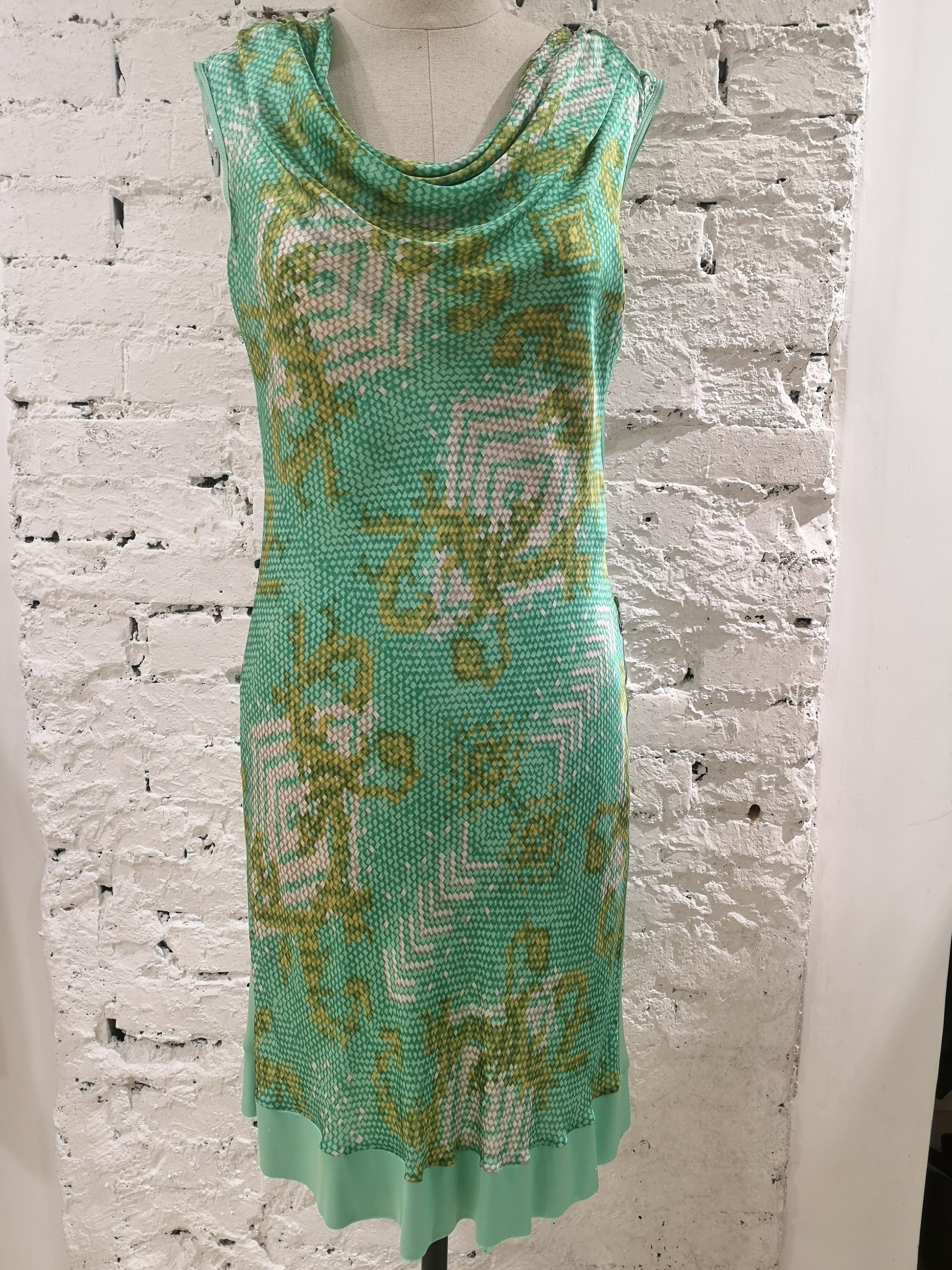 Versace Collection green dress Versace | Abito | FG09A0100ETVERDE MULTI
