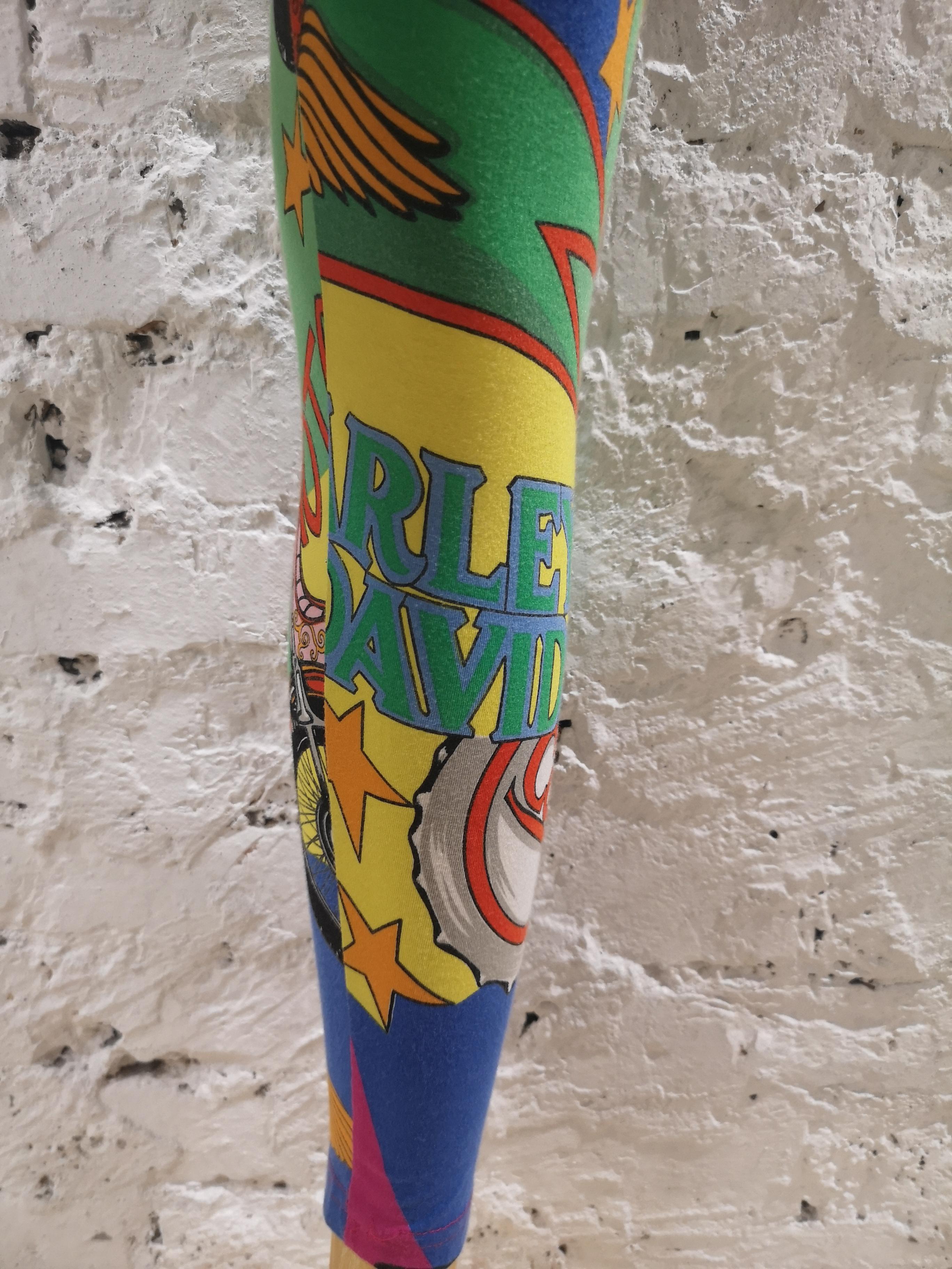 1992 Gianni Versace Betty Boop cotton leggins Versace |  | VXR018120SWASBETTY B
