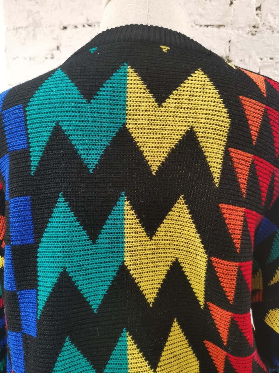 Multicoloured vintage pull VIntage |  | VXR01803FANTASIA