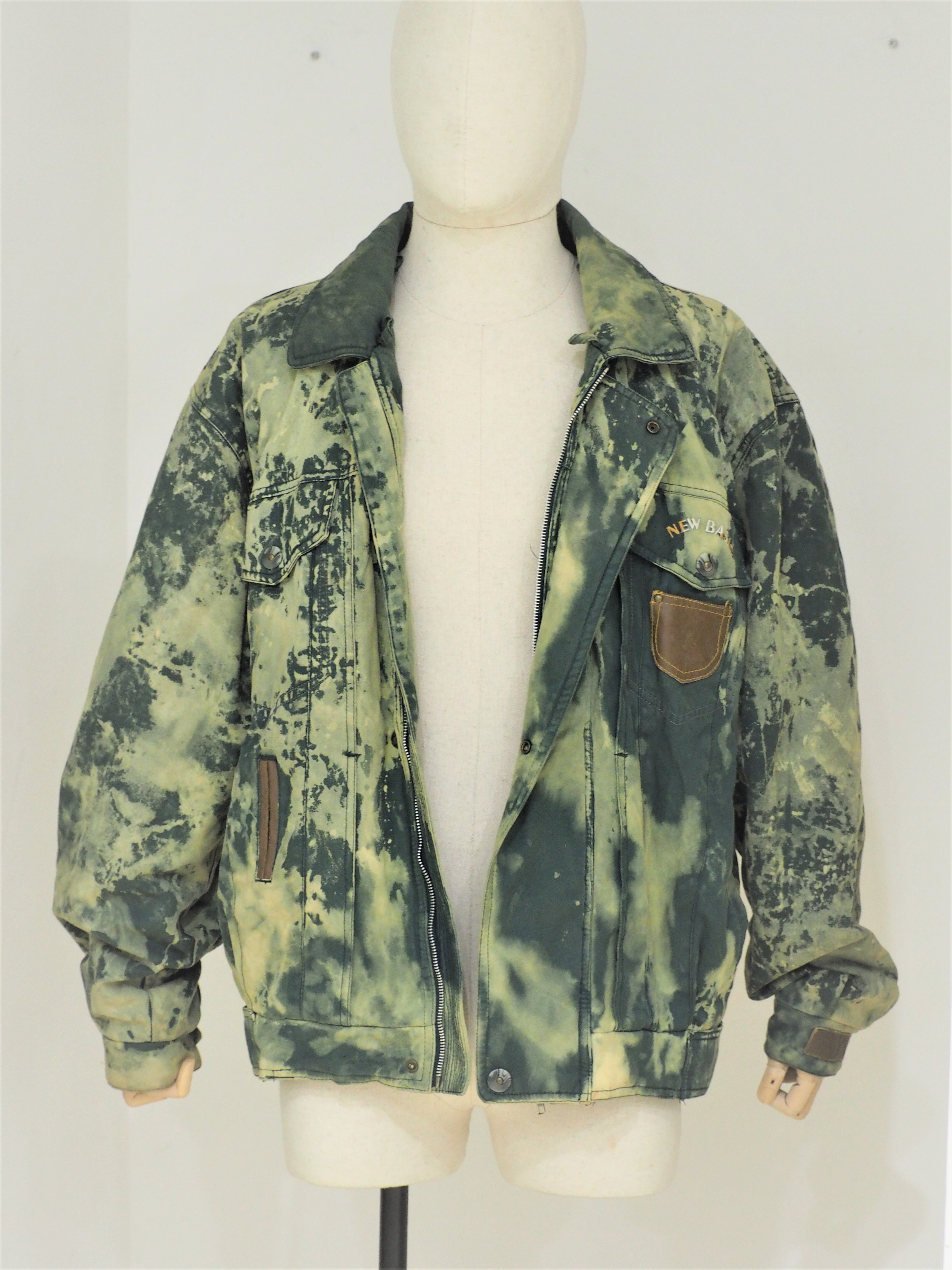 1990s vintage Green bomber jacket VIntage | Jackets | VXR01808FILA