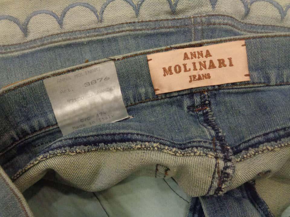 Anna Molinari Denim Skirt Anna molinari | Gonna | LE01930XSZDENIM