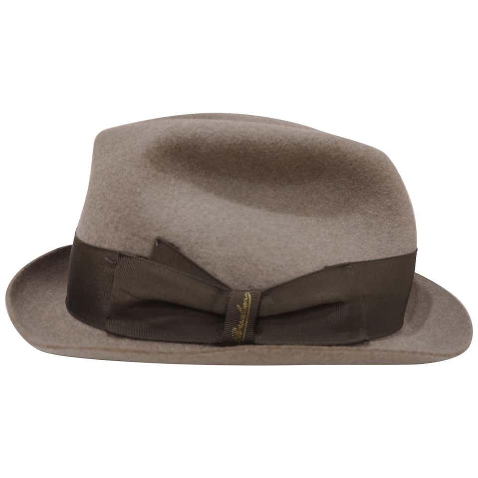 Borsalino Grey Wool Hat Borsalino | Cappello | MG01950XSZ1GRIGIO