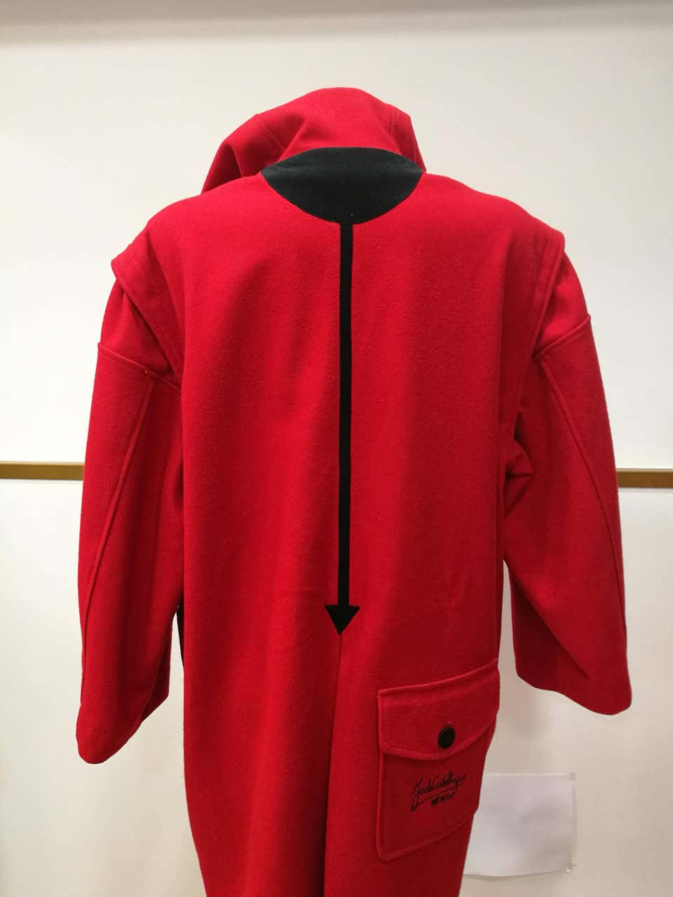 Rare J.C. de Castelbajac Red Coat J.C. de Castelbajac   Coats   LE01980XS00ROSSO