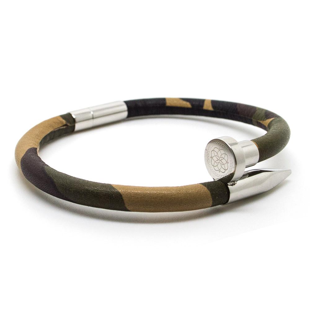 CHEVALIER PROJECT | Bracelet | P102CAMO SILVER