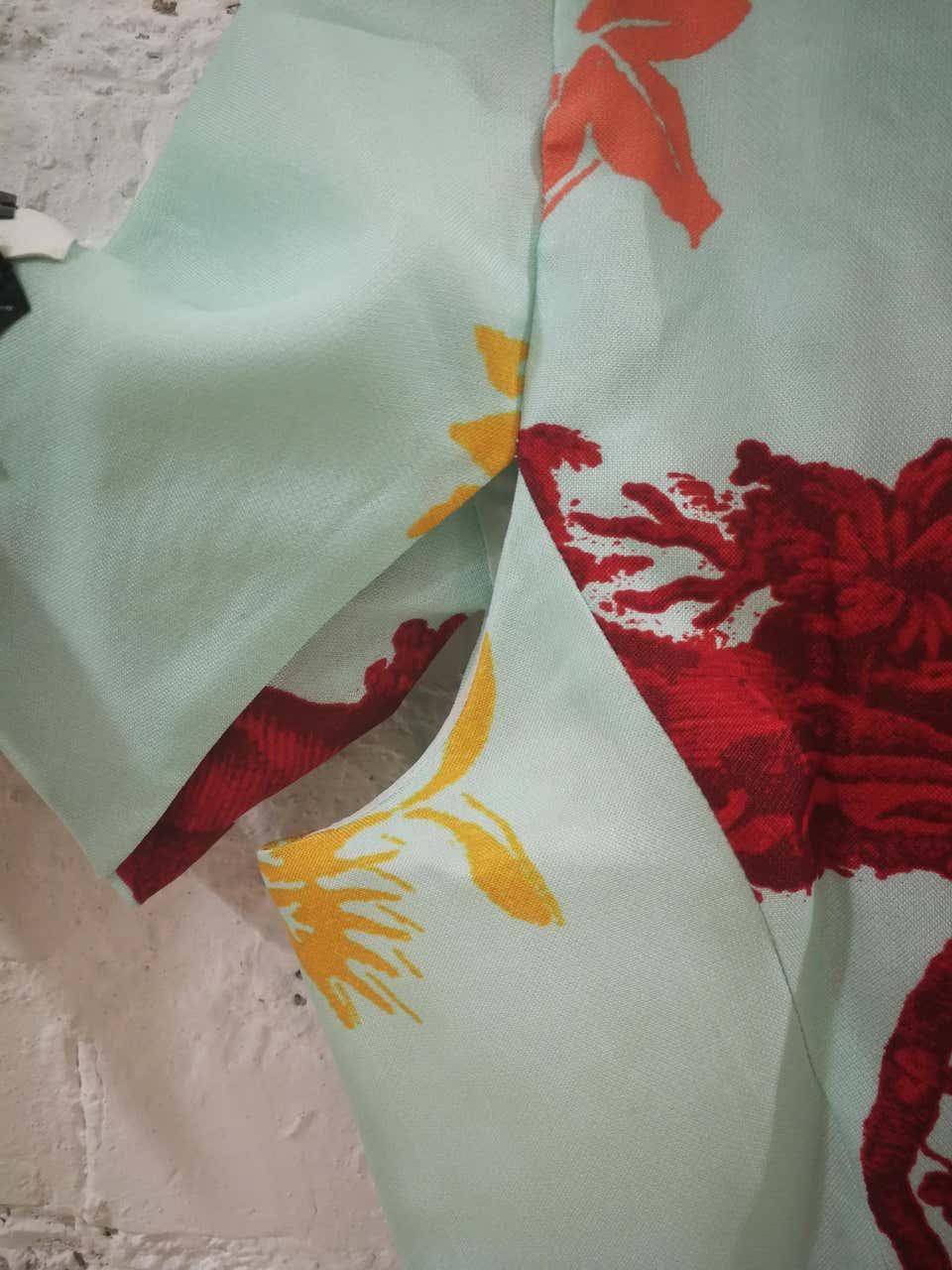 Christian Lacroix Multicoloured Silk Shirt Christian Lacroix | Giacca | LE01910X0POIS