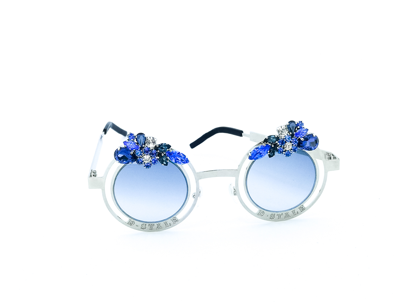 D style | Sunglasses  | BLUE SILVER-