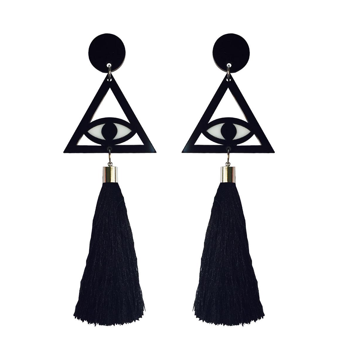 Doodad Fandango | Earrings | ILLUMINATIW TASSELS