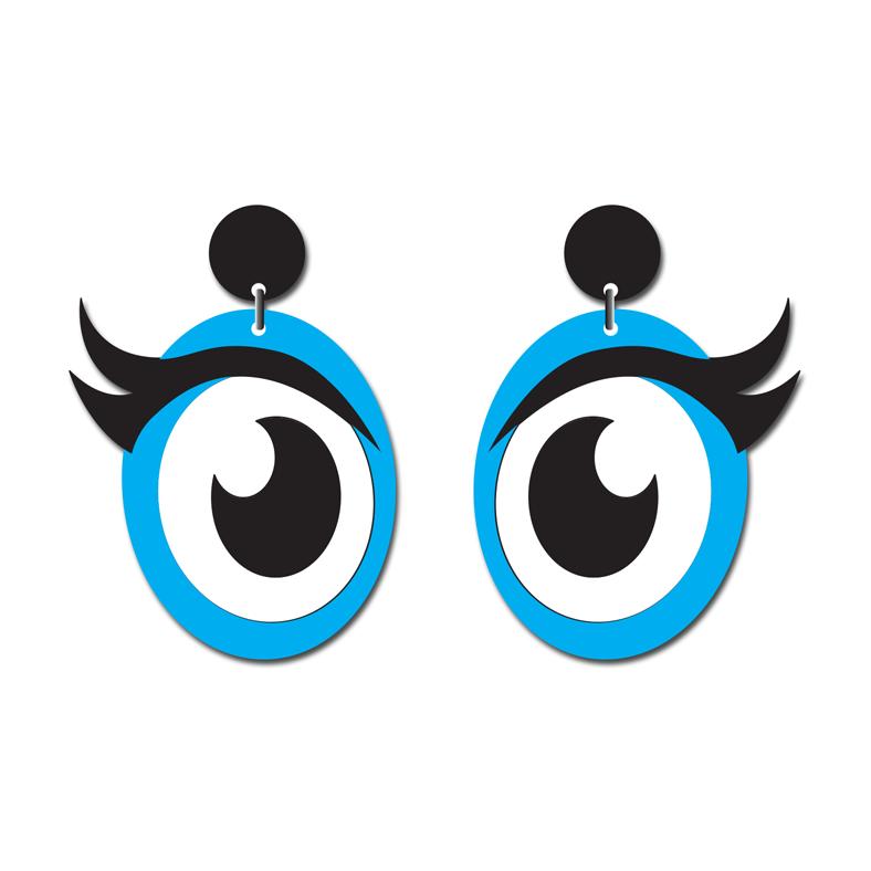Doodad Fandango | Earrings | JEEPERS PEEPERSBLUE