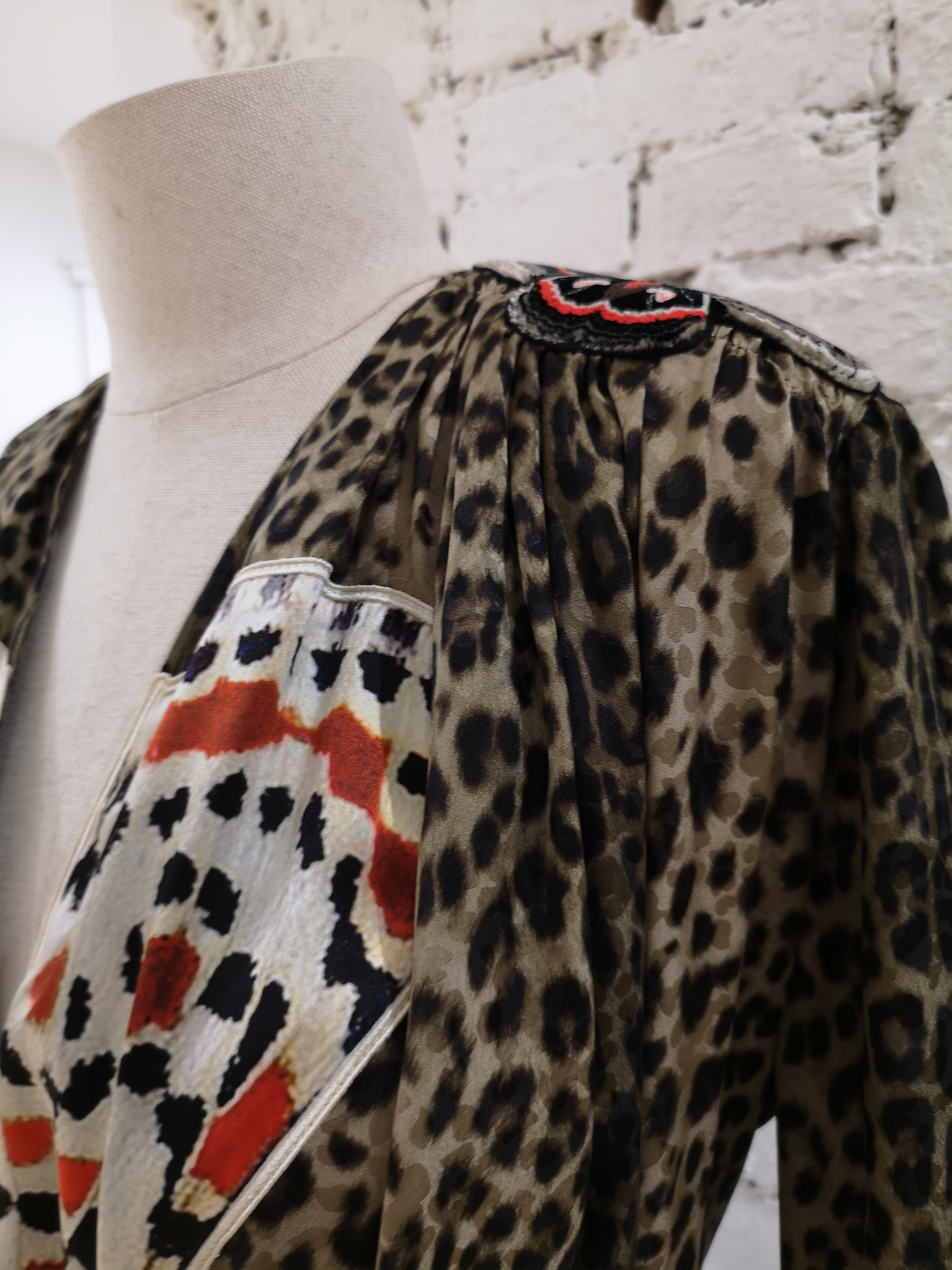 Givenchy Leopard Butterfly Dress Givenchy | Abito | LE19100X0S-