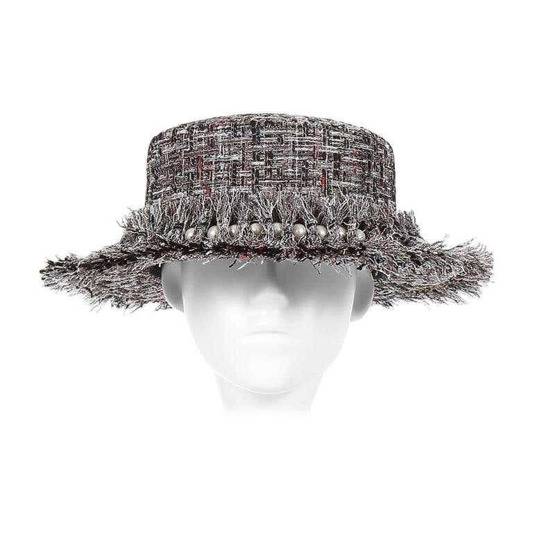 Laurence and Chico Grey Tweed Hat Laurence & Chico | Hats | 19G10108-