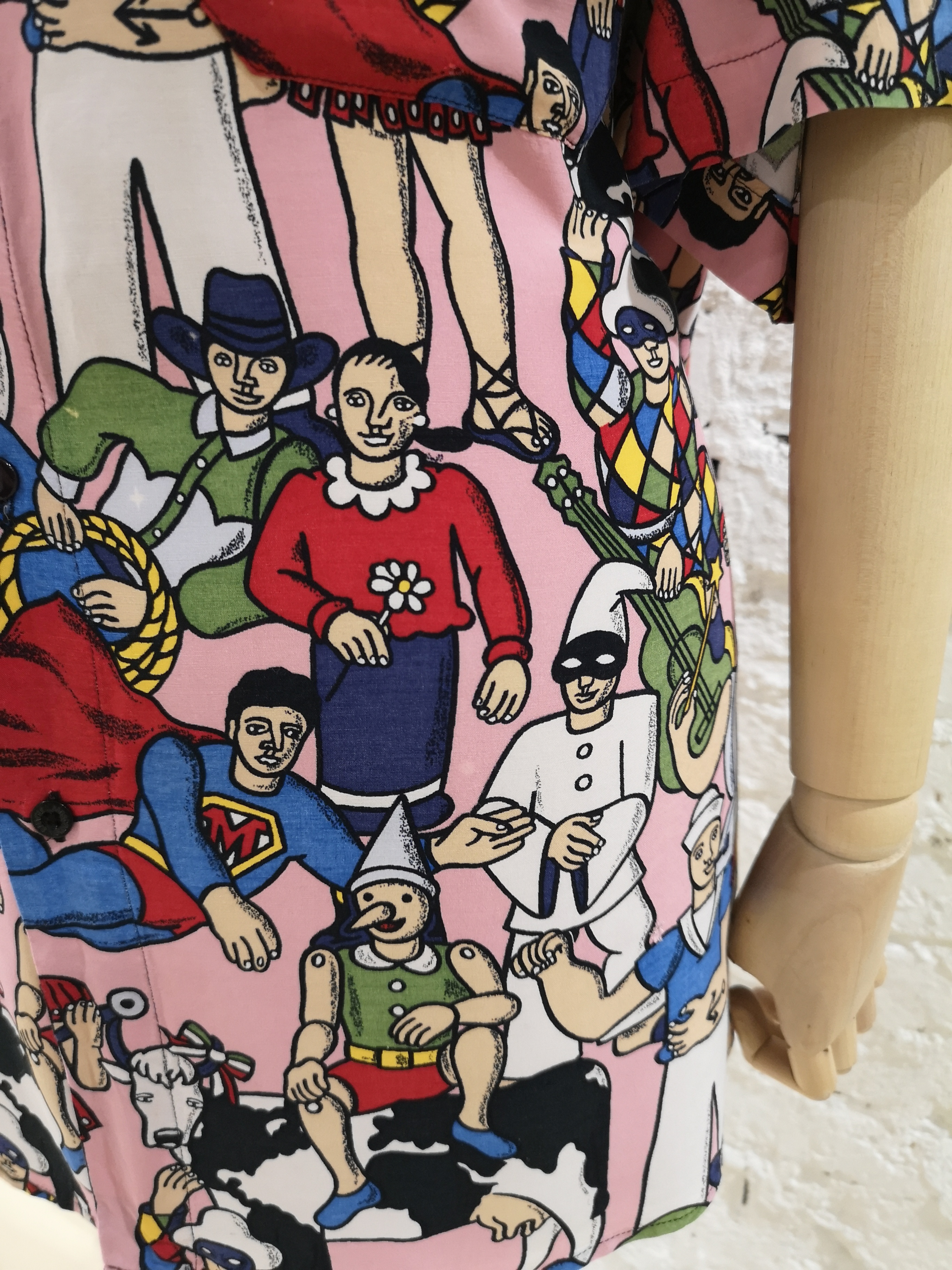 Moschino Pink characters shirt Moschino | Shirts | SD019450XSROSA MUCCA