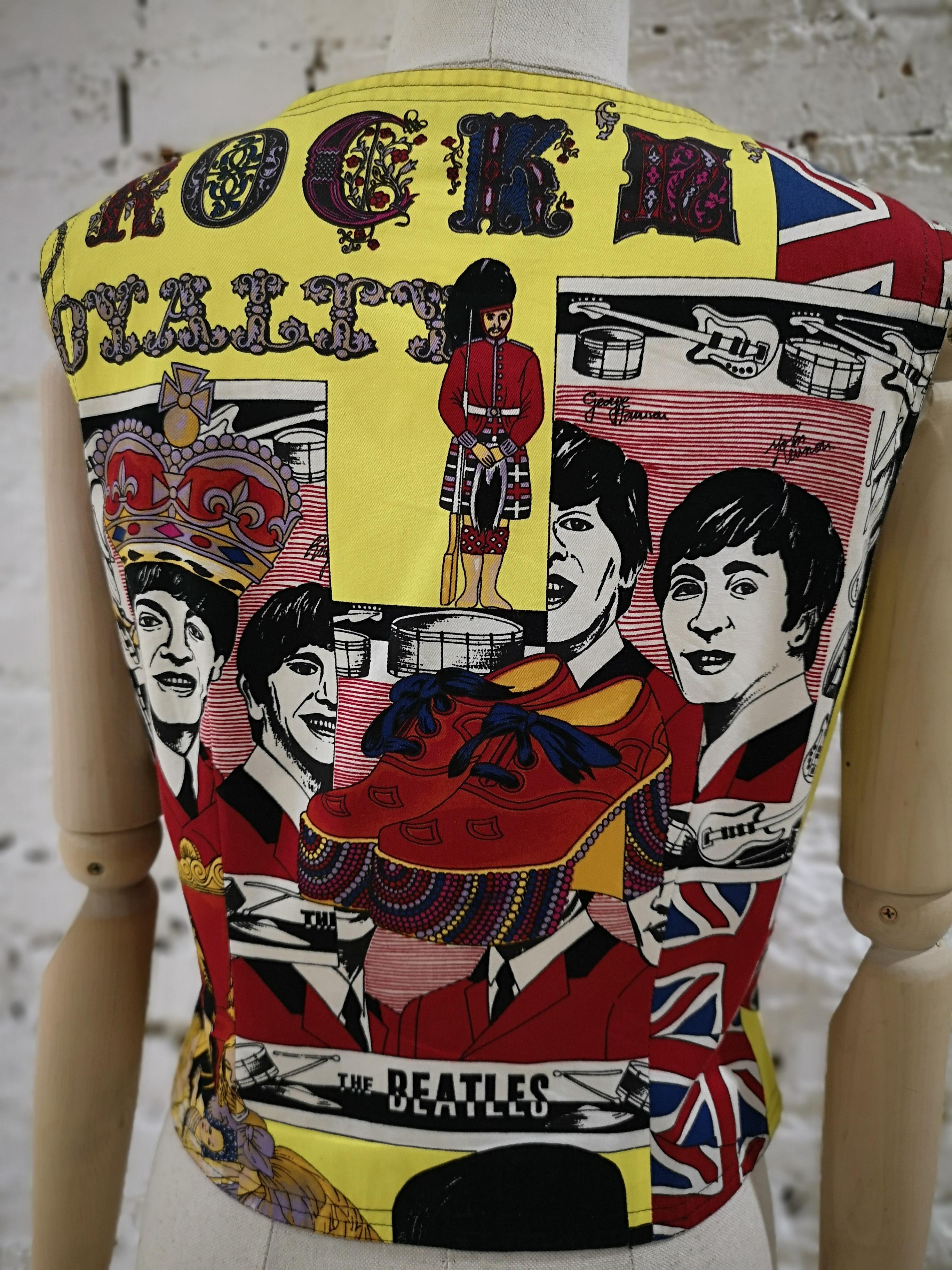 1990s Versace Beatles vest / gilet Versace | Gilet | BEATLES-