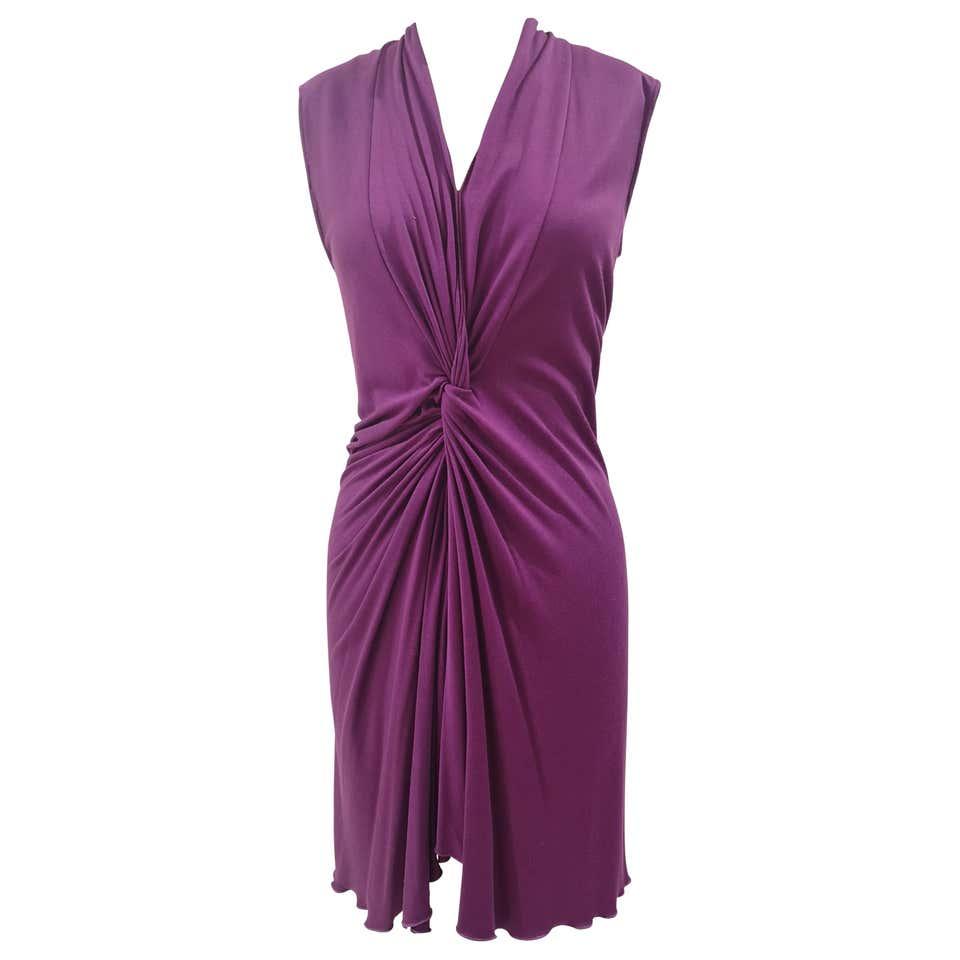 Yves Saint Laurent purple Dress yves saint laurent | Dresses | MG01960WPÈVIOLA