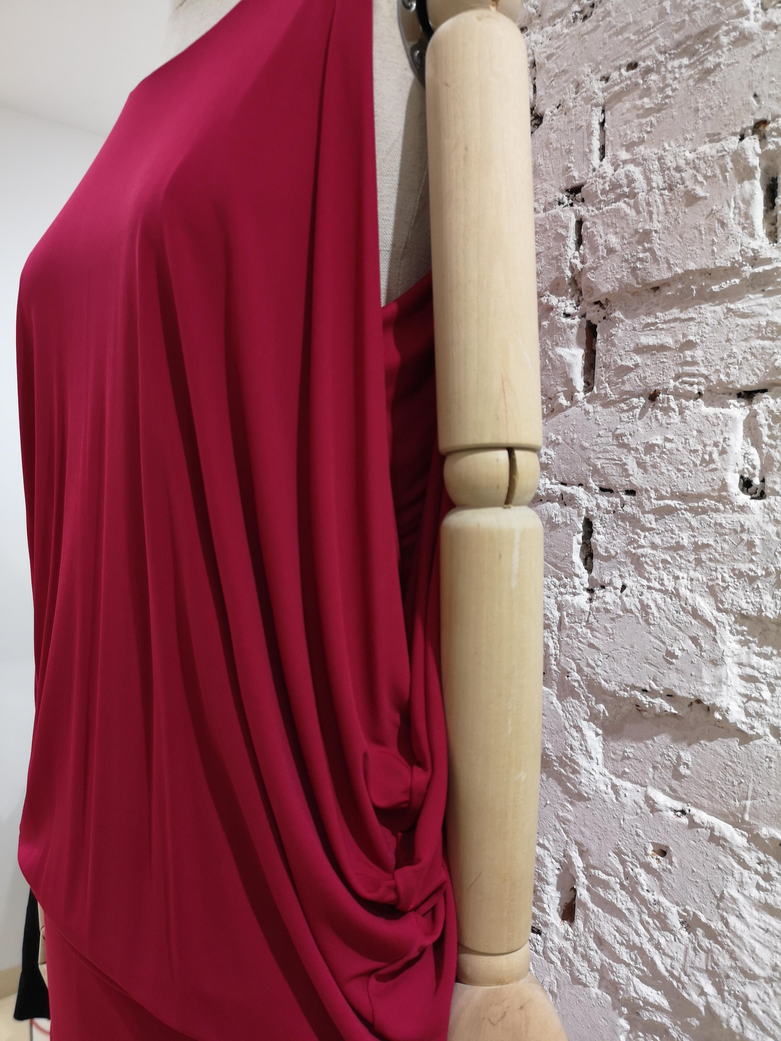 Alexander McQueen Fucsia viscose dress Alexander McQueen | Dresses | FO0204S0CC0DROSA