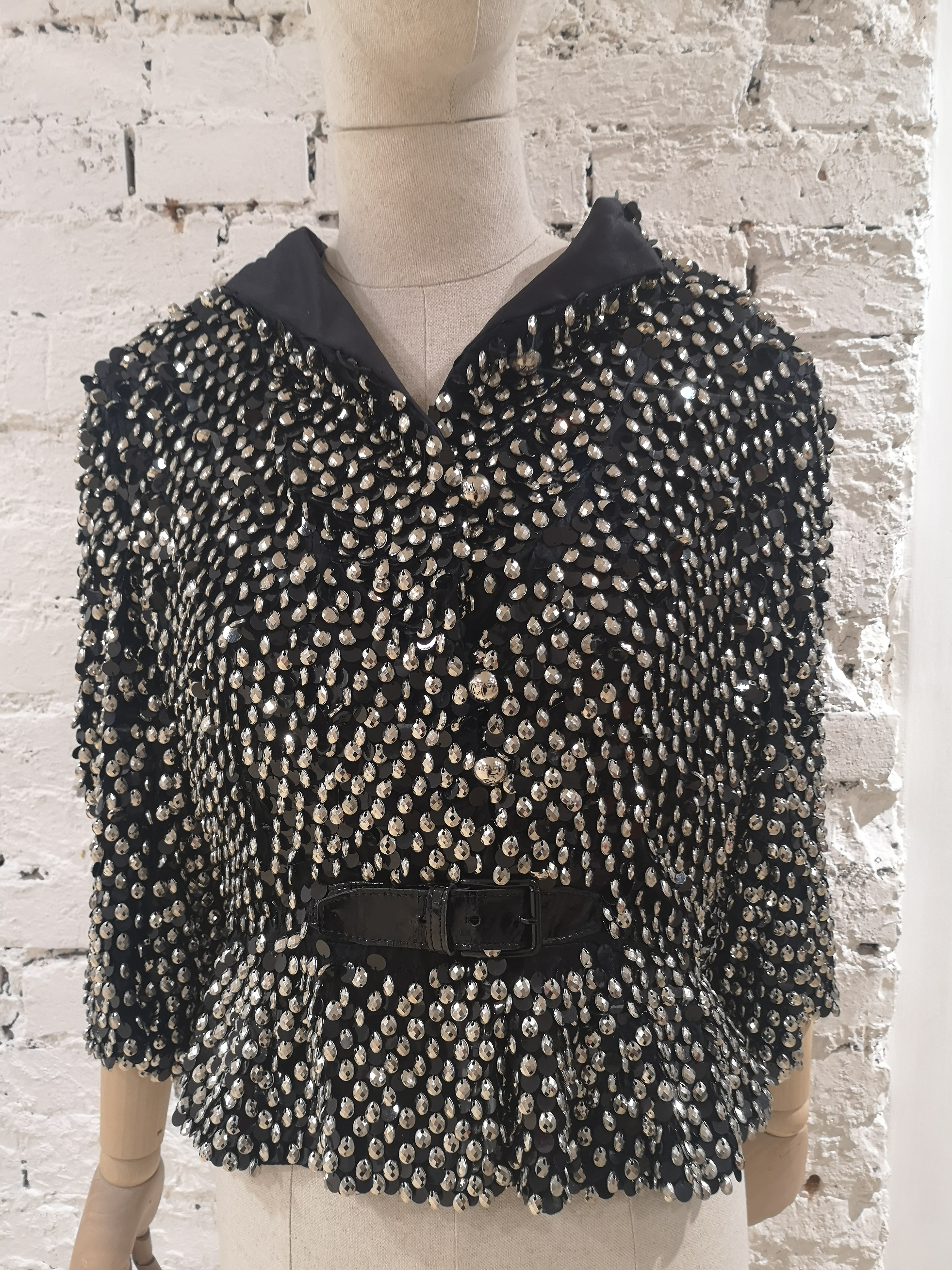 Emporio Armani Black silk jacket Armani | Giacca | AT020XS45V0NERO