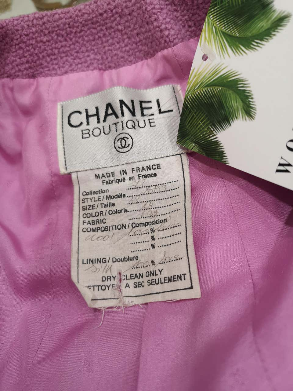 Chanel wisteria Wool Skirt Suit CHANEL | Suit | GLICINECOMPLETO