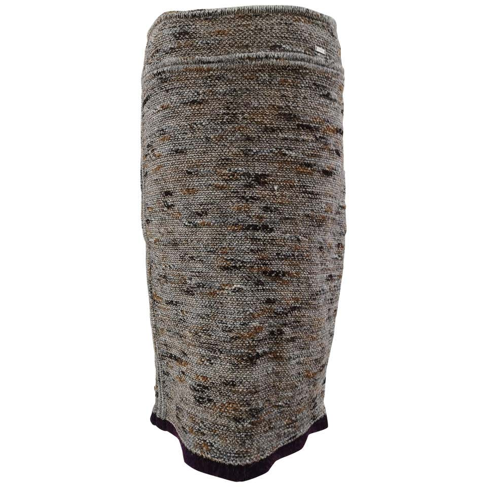 Chanel wool skirt Chanel | Skirts | GONNAROSA
