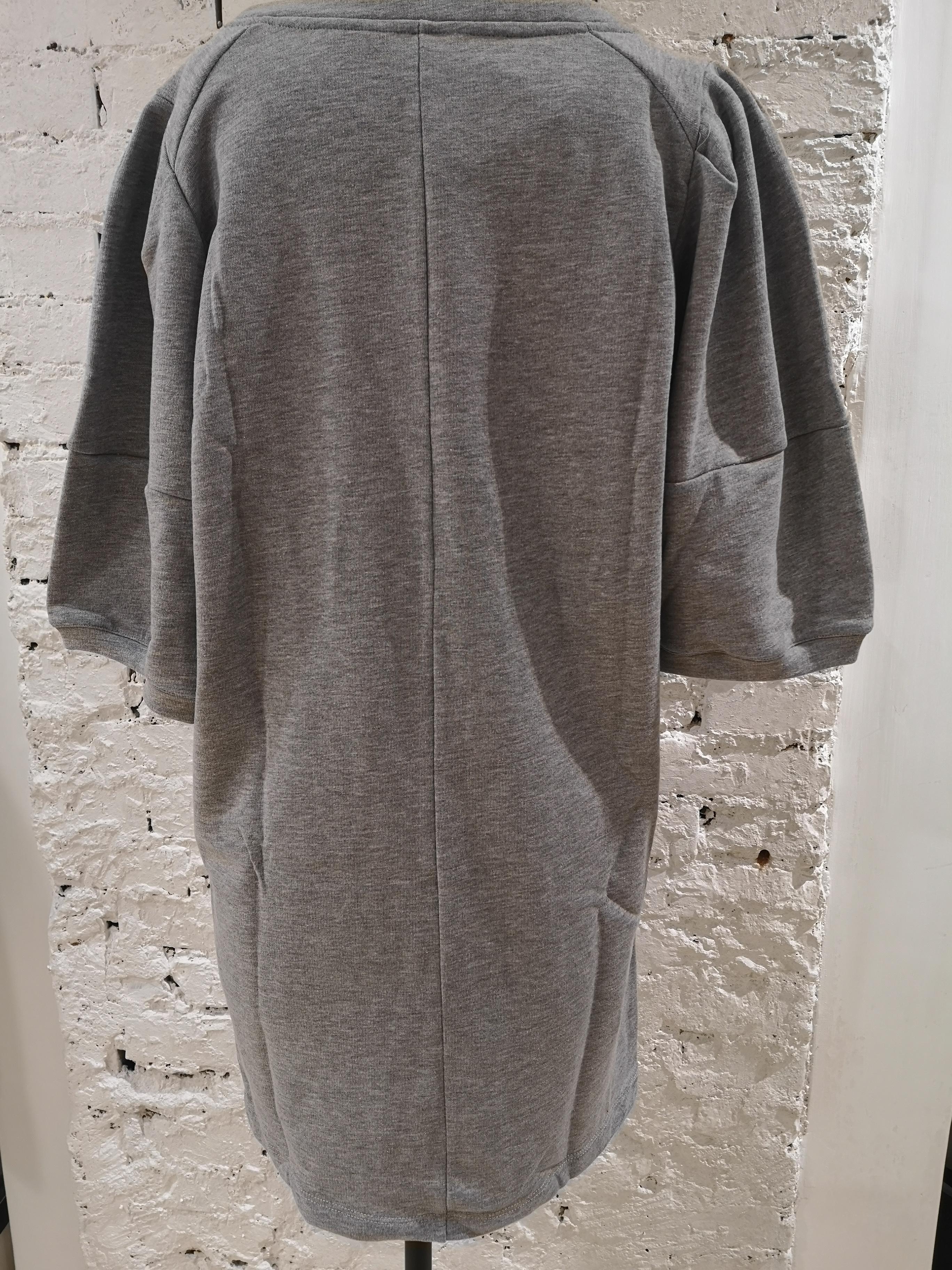 Gli Psicopatici I am Fake Minnie cotton long dress / sweater Gli Psicopatici | Sweaters | FELPAFAKE