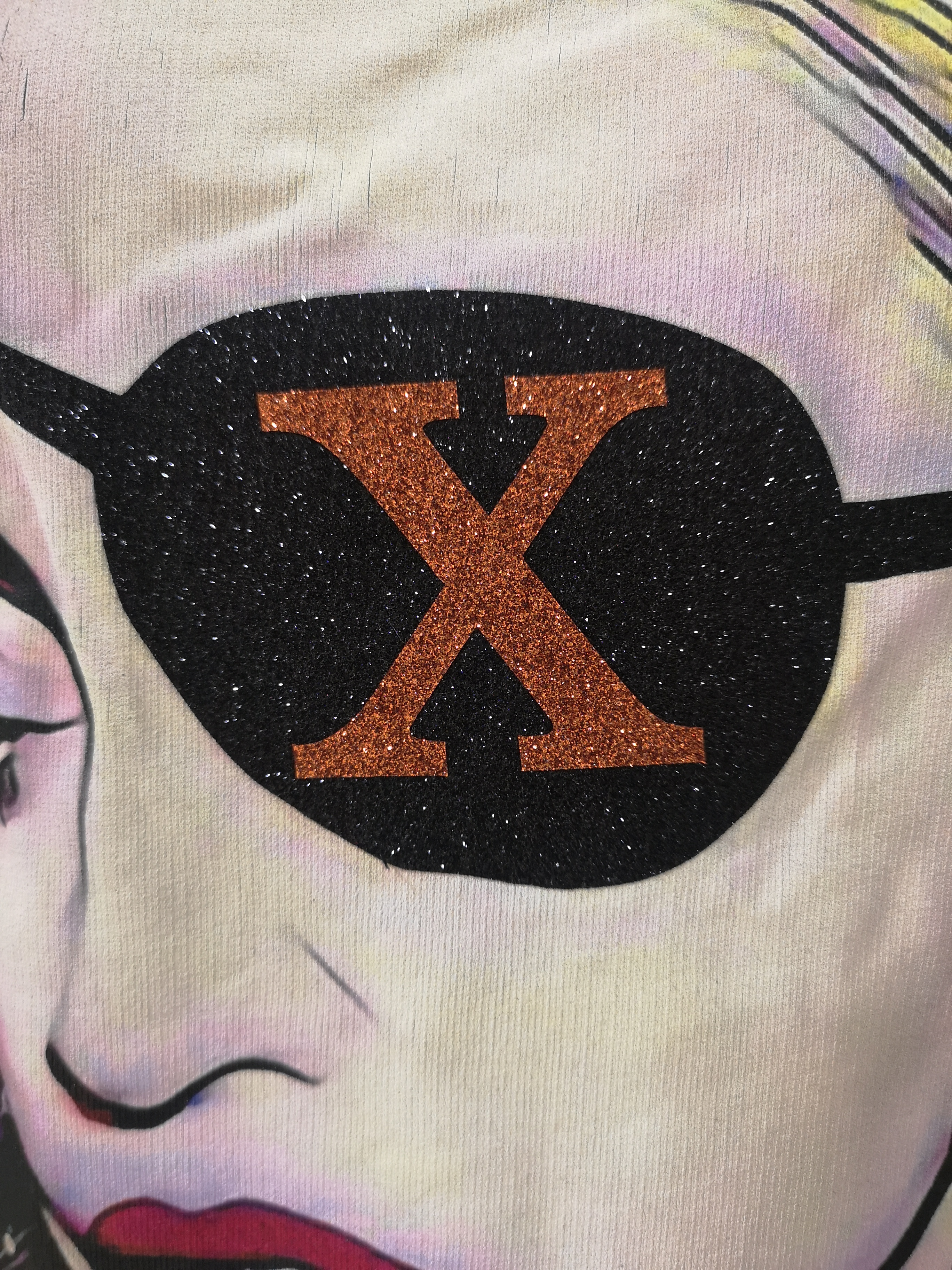 Gli Psicopatici Madonna X black long sweater / dress Gli Psicopatici | Felpa | FELPARIMINI