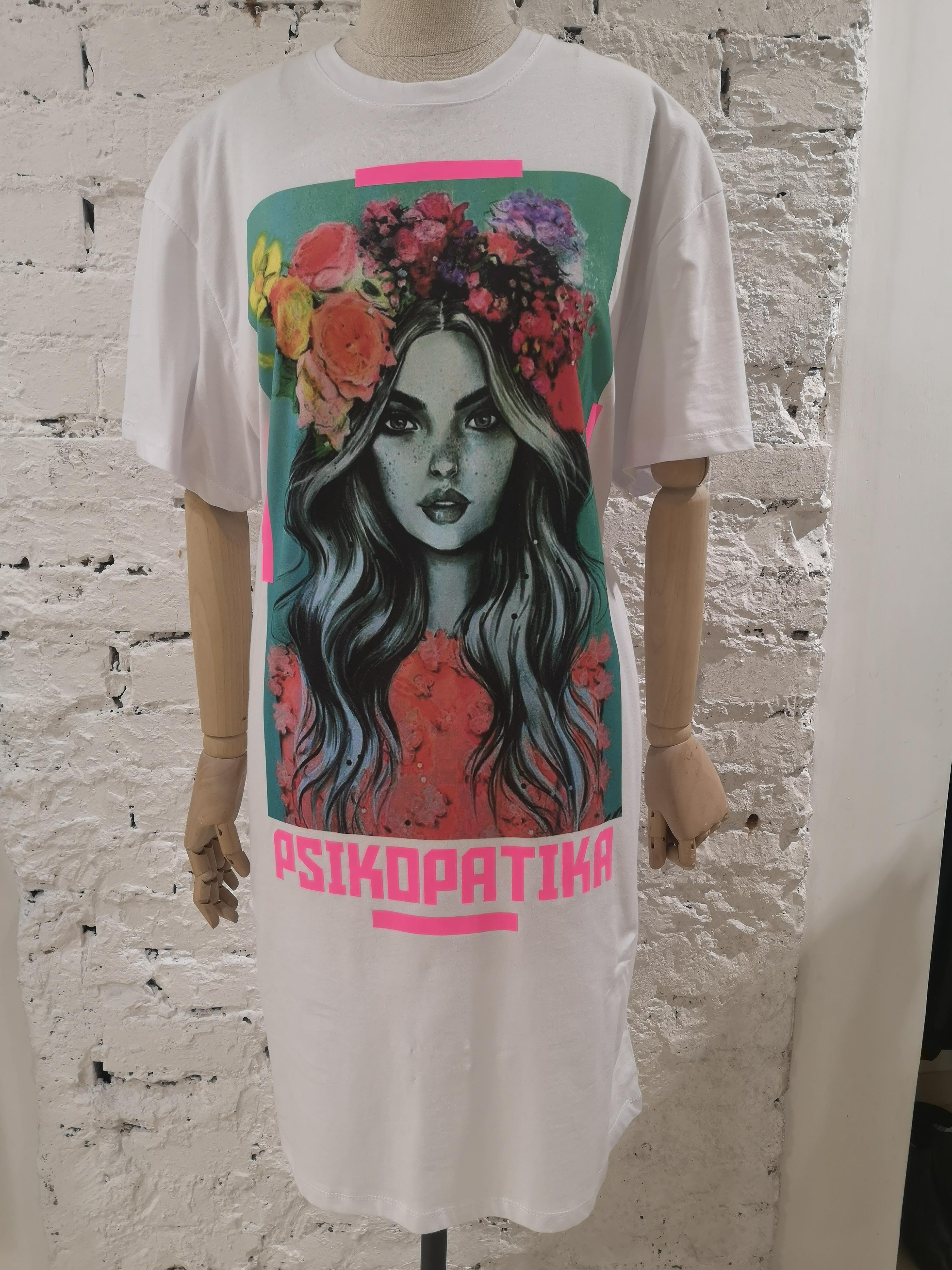 Gli Psicopatici white cotton dress Gli Psicopatici | Abito | MINIABITOFIORI