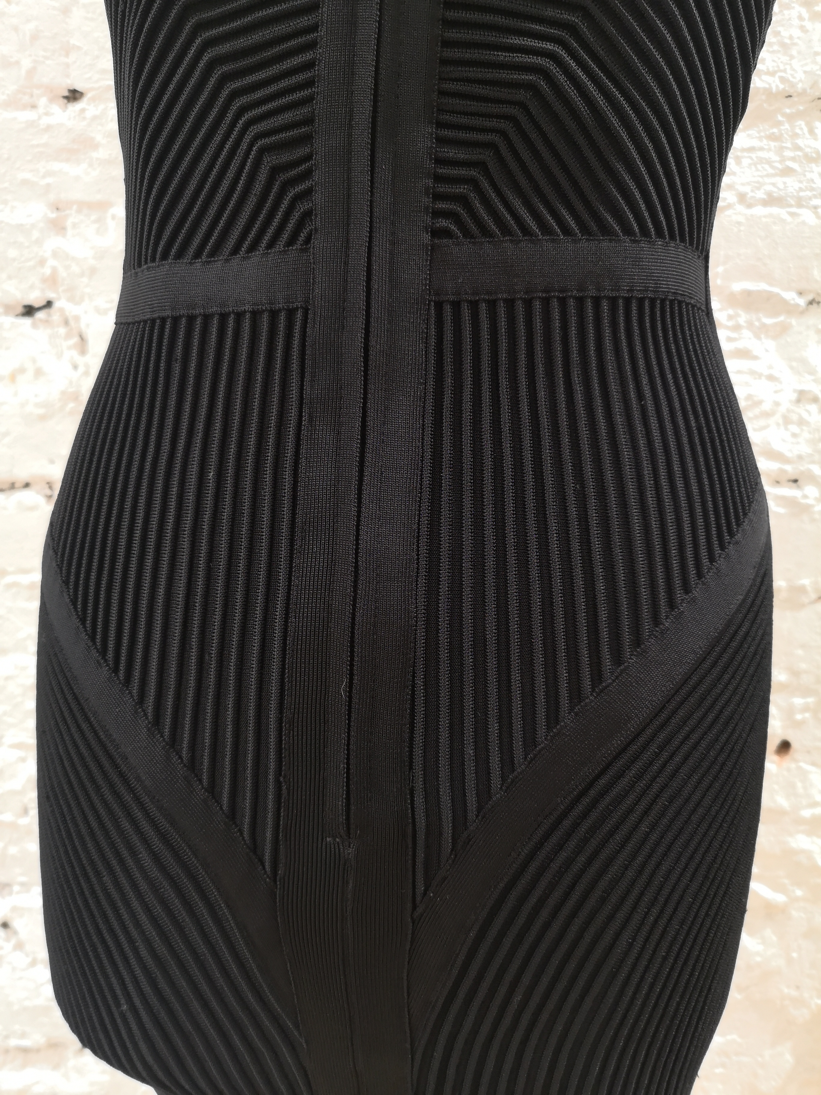 Herve Leger Black Dress Herve Leger | Abito | DUC020180SCDMILLERIGHE