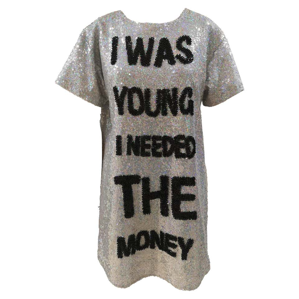 House of Muamua | Dresses | I WAS YOUNG I NEEDED MONEYSILVER
