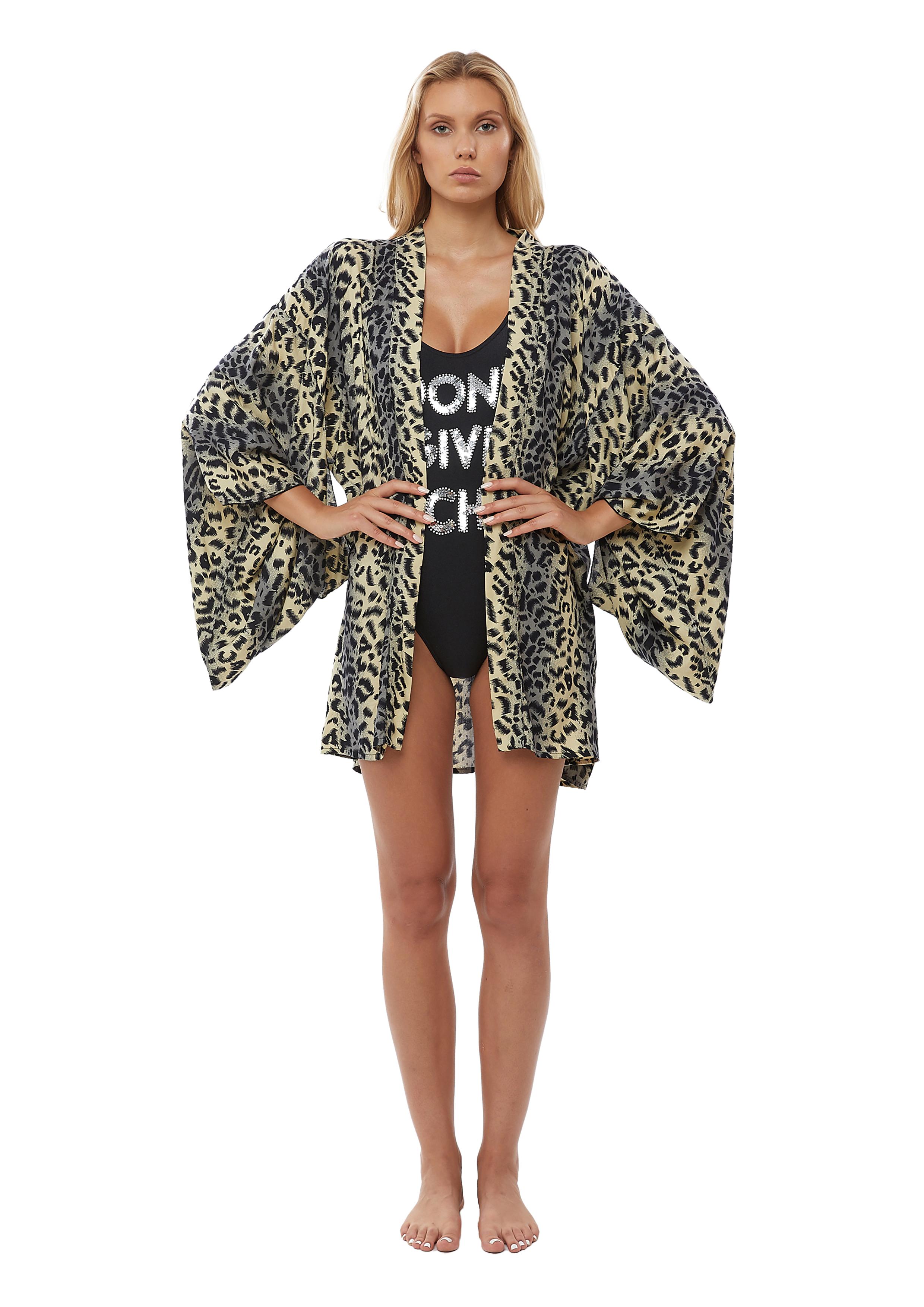 House of Muamua | Kimono | SKORT IT'S NOT YOULEOPARD