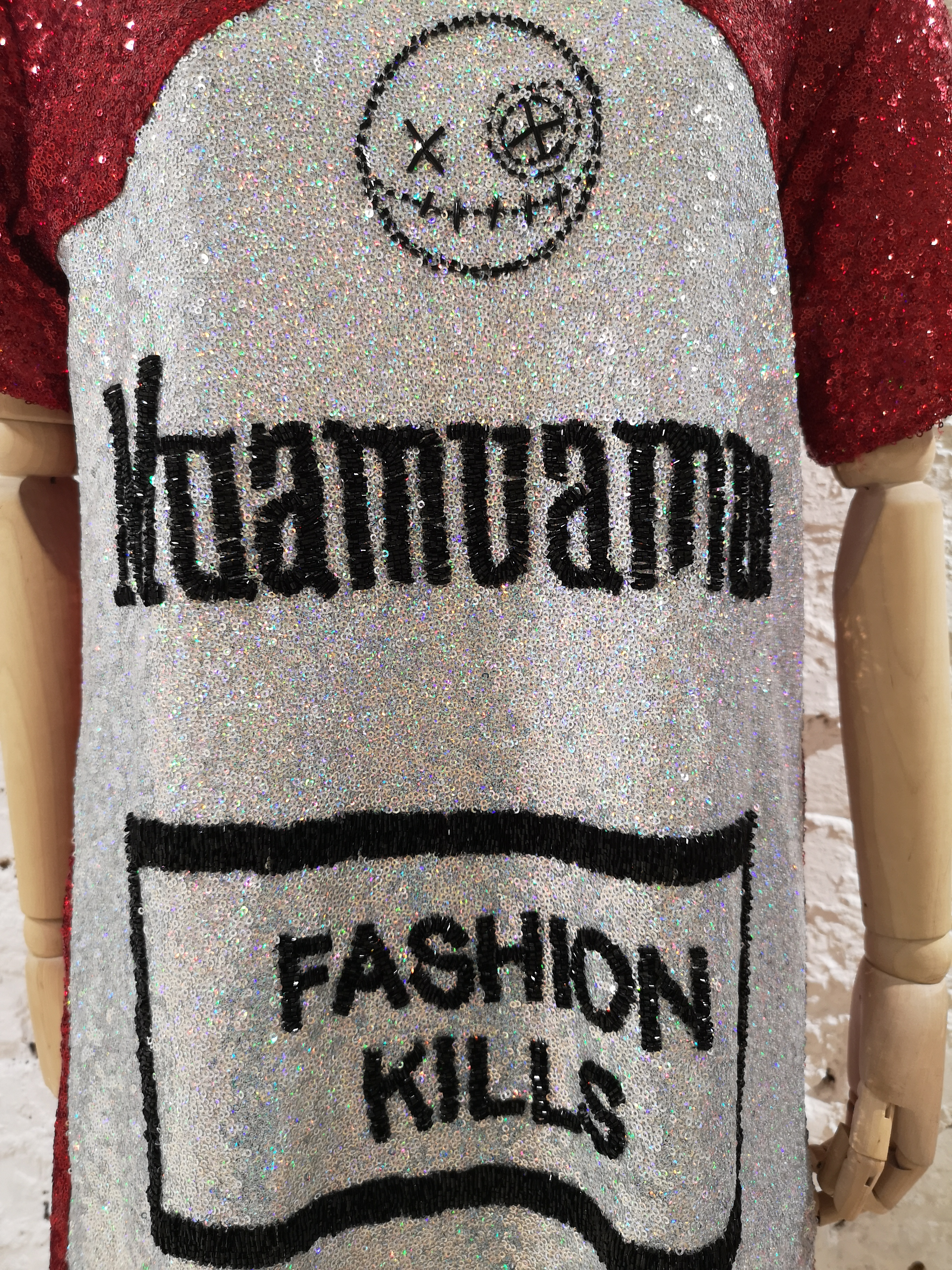 House of Muamua sequins dress House of Muamua | Abito | MAXI TEEFASHIONKILLS