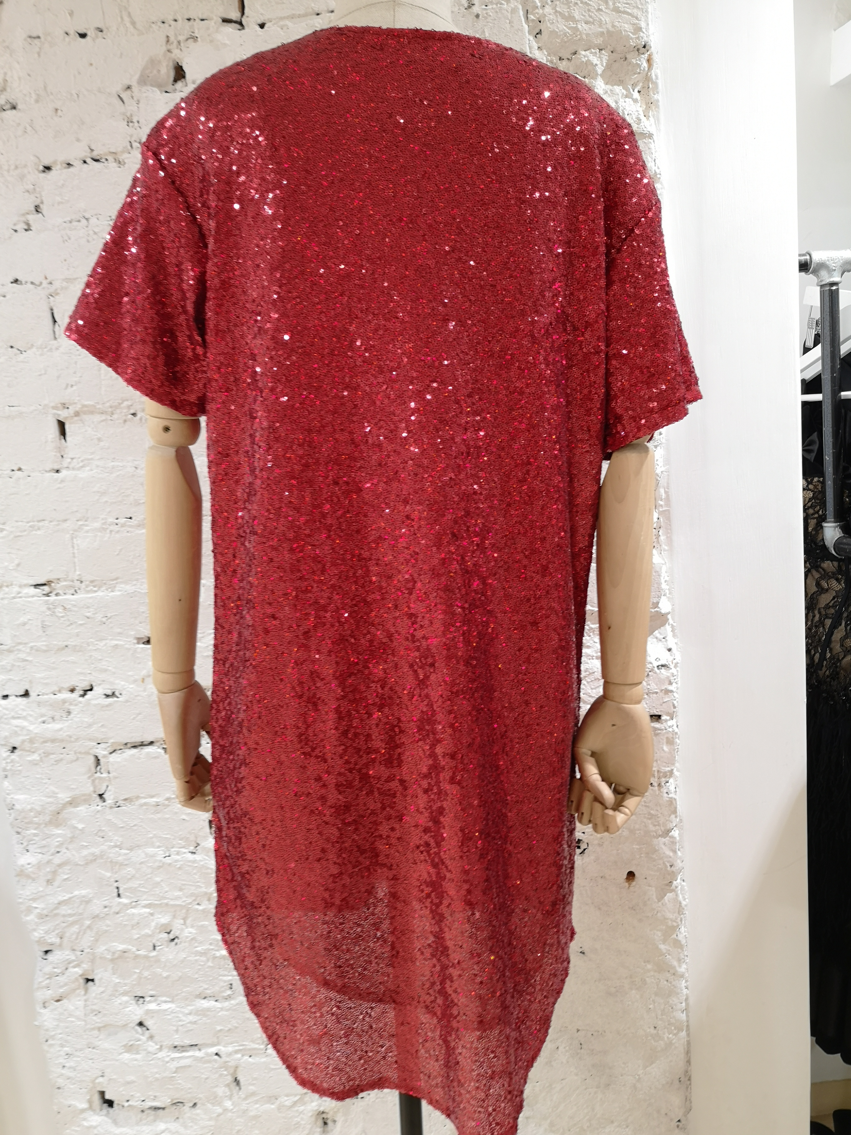 House of Muamua red sequins I don't give a chic dress House of Muamua | Dresses | MAXI TEEIDONT